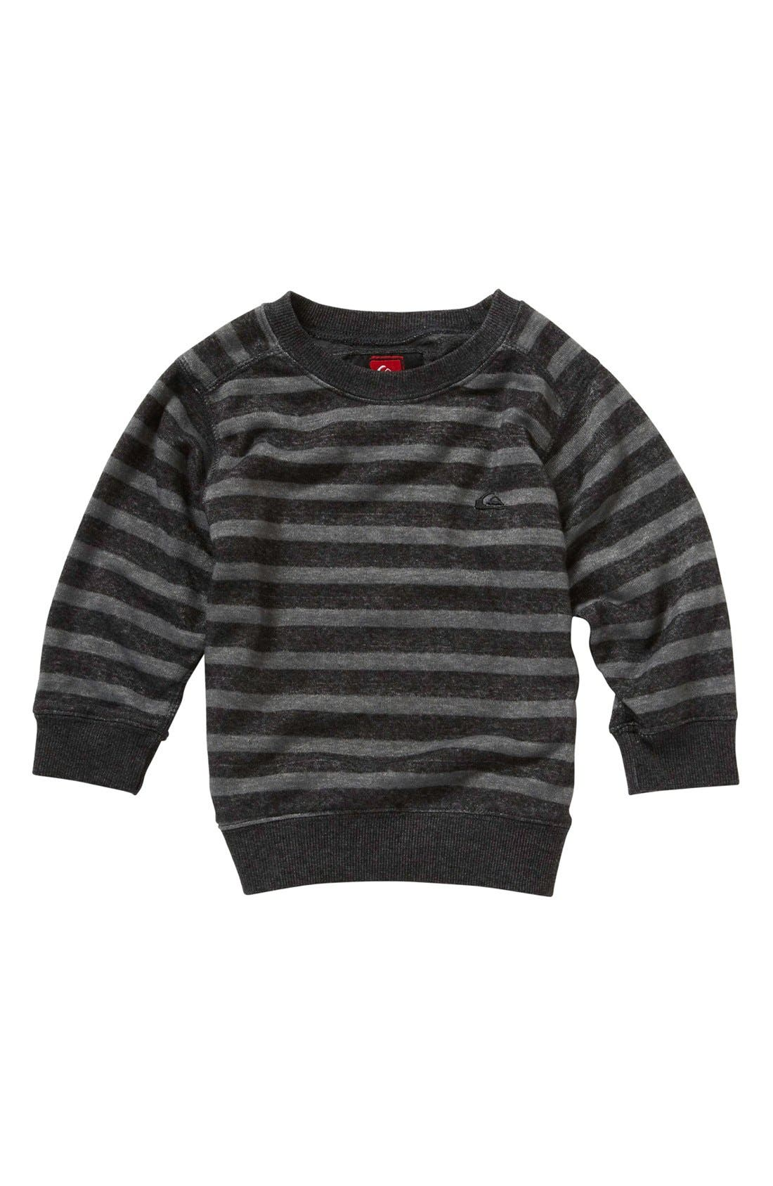 Alternate Image 1 Selected - Quiksilver 'Spiff Tiff' Sweatshirt (Baby Boys)
