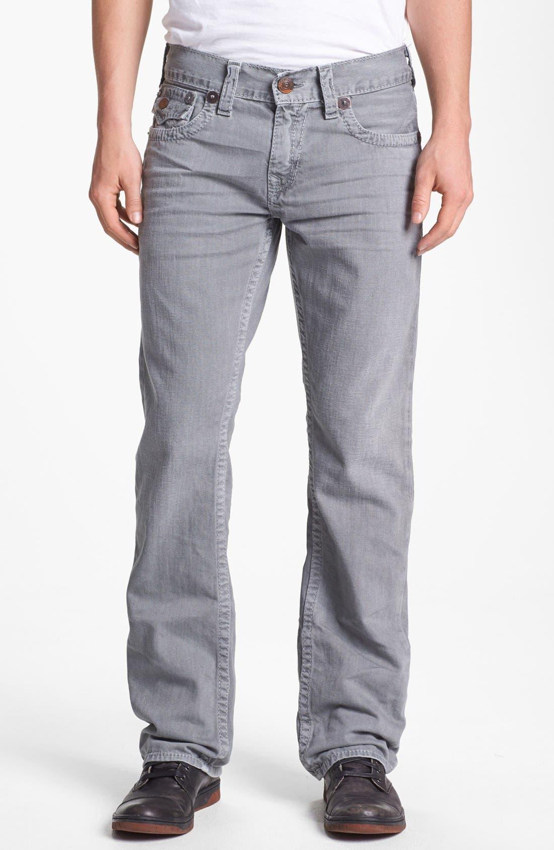 Alternate Image 2  - True Religion Brand Jeans 'Ricky' Straight Leg Jeans (Assd Seal)