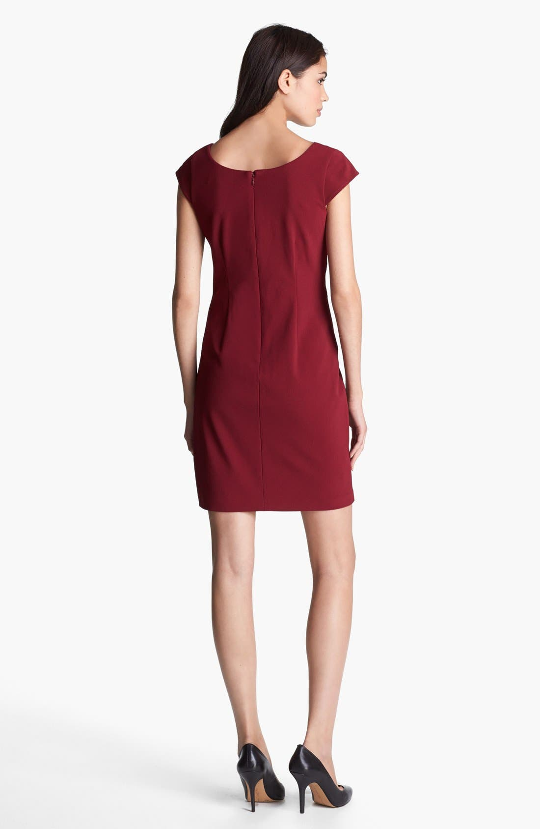 Alternate Image 2  - Marc New York by Andrew Marc Seamed Sheath Dress
