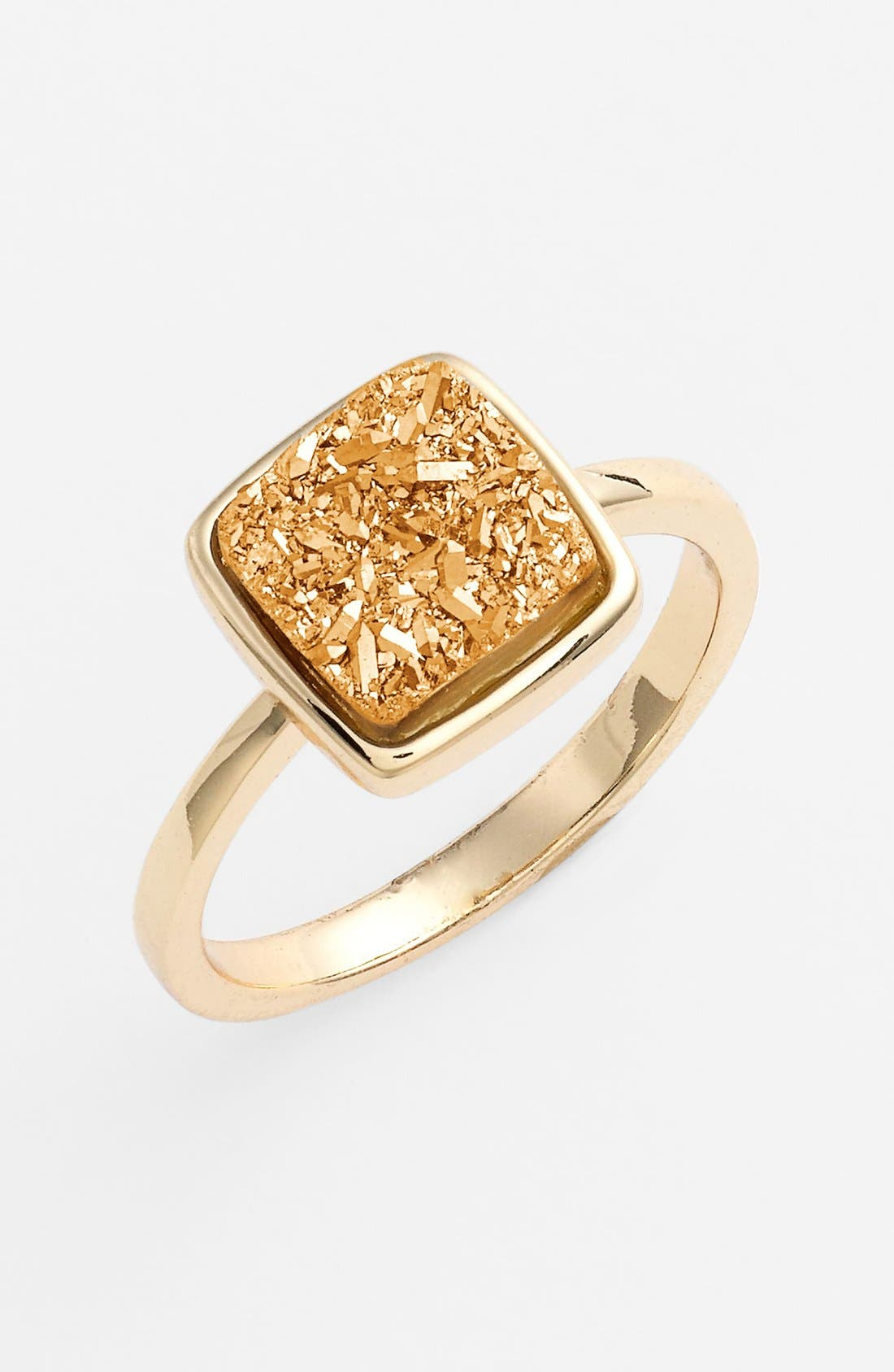 Alternate Image 1 Selected - Marcia Moran 'Drusy Extravaganza' Square Ring (Online Only)
