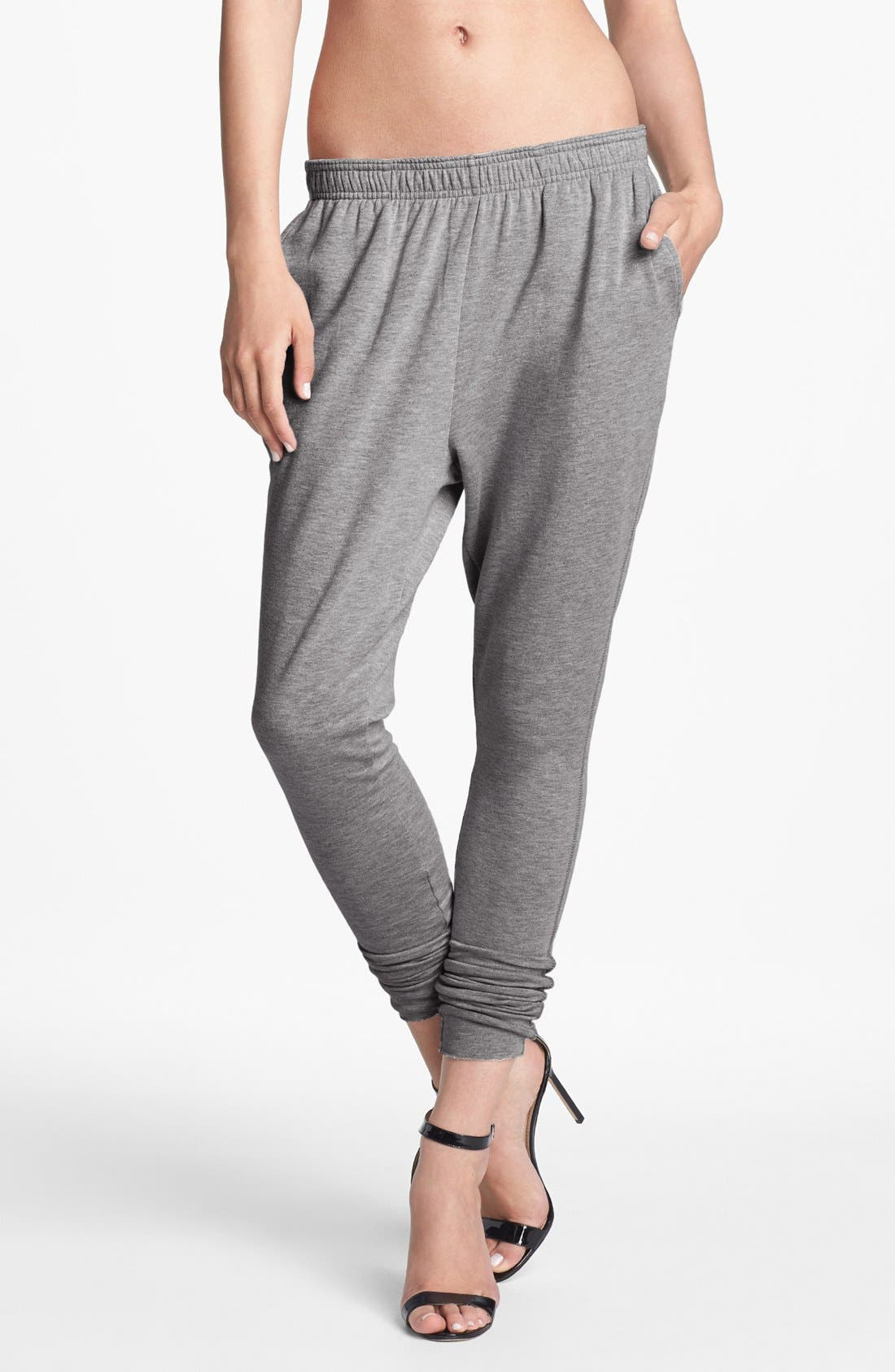 Alternate Image 1 Selected - Leith Skinny Leg Sweatpants