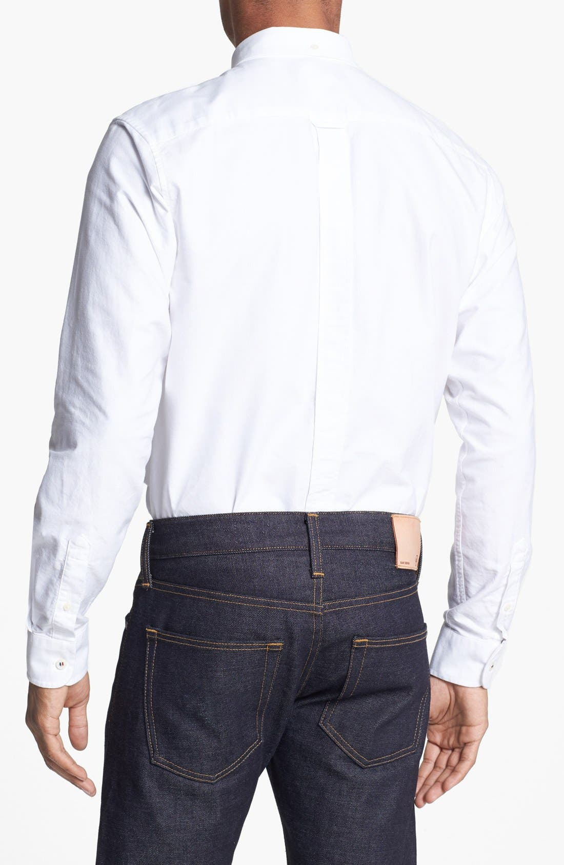 Alternate Image 2  - Fred Perry Extra Trim Fit Oxford Sport Shirt