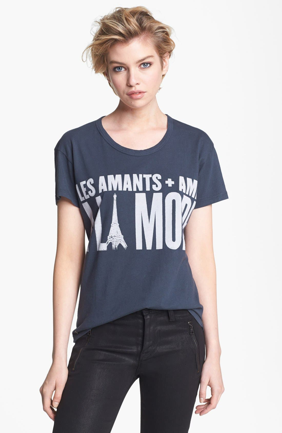 Alternate Image 1 Selected - Lovers + Friends Basic Tee