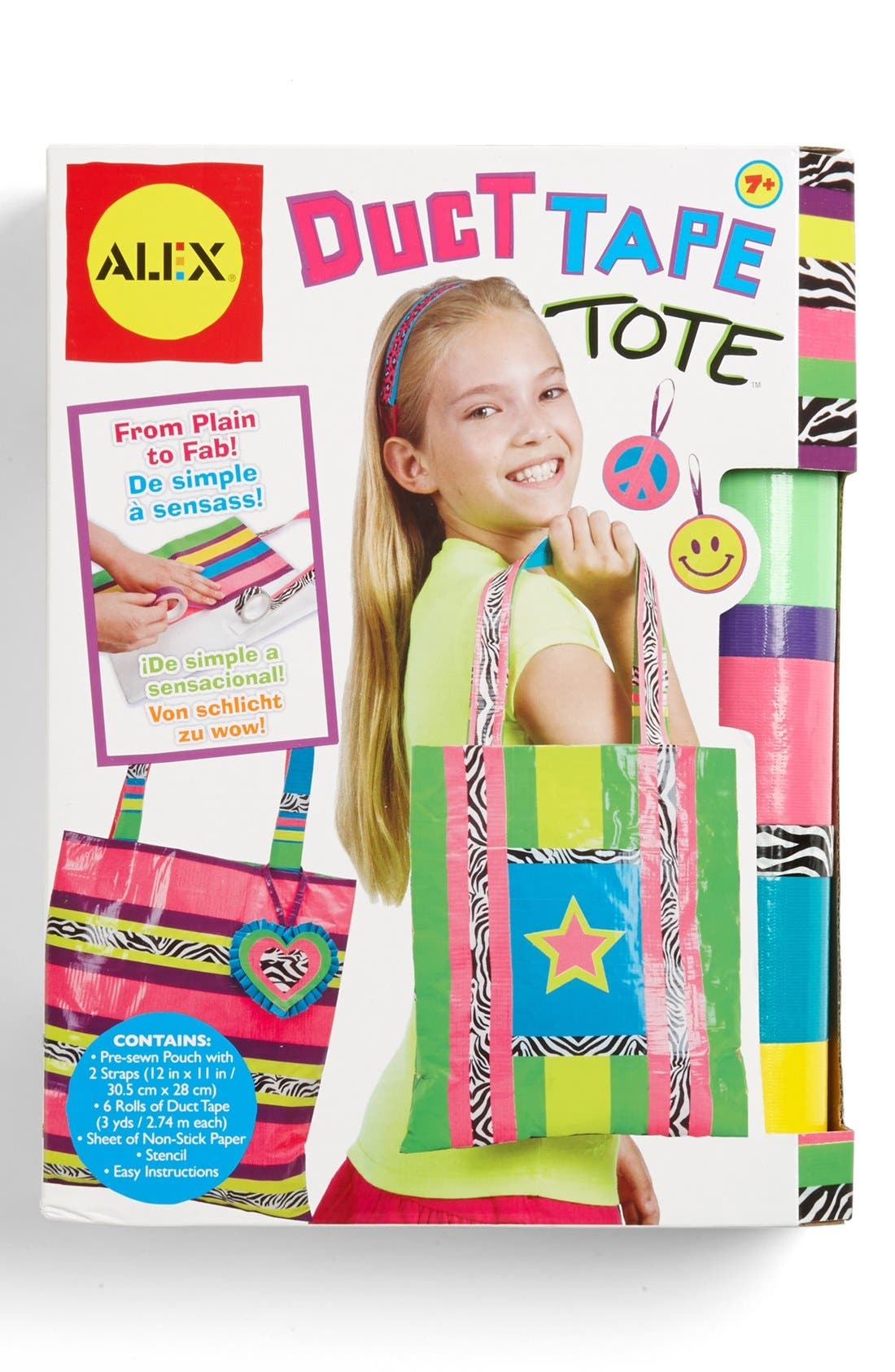 Alternate Image 1 Selected - Alex® Toys Duct Tape Tote Kit
