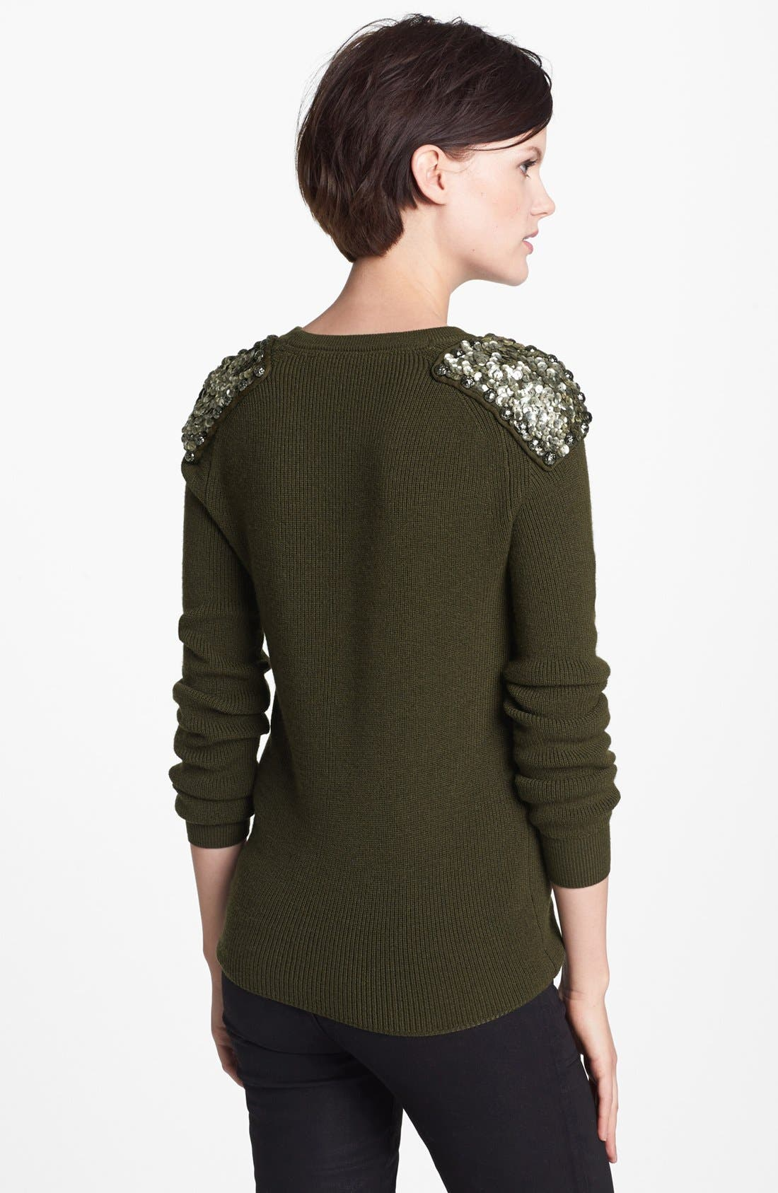 Alternate Image 2  - MARC BY MARC JACOBS 'Cadette' Sequin Sweater