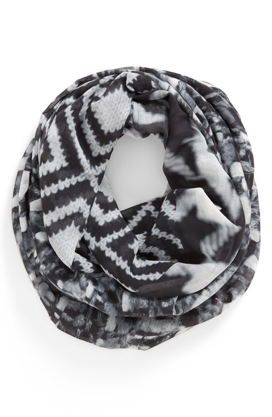 Alternate Image 1 Selected - Echo 'Digital Patchwork' Infinity Scarf