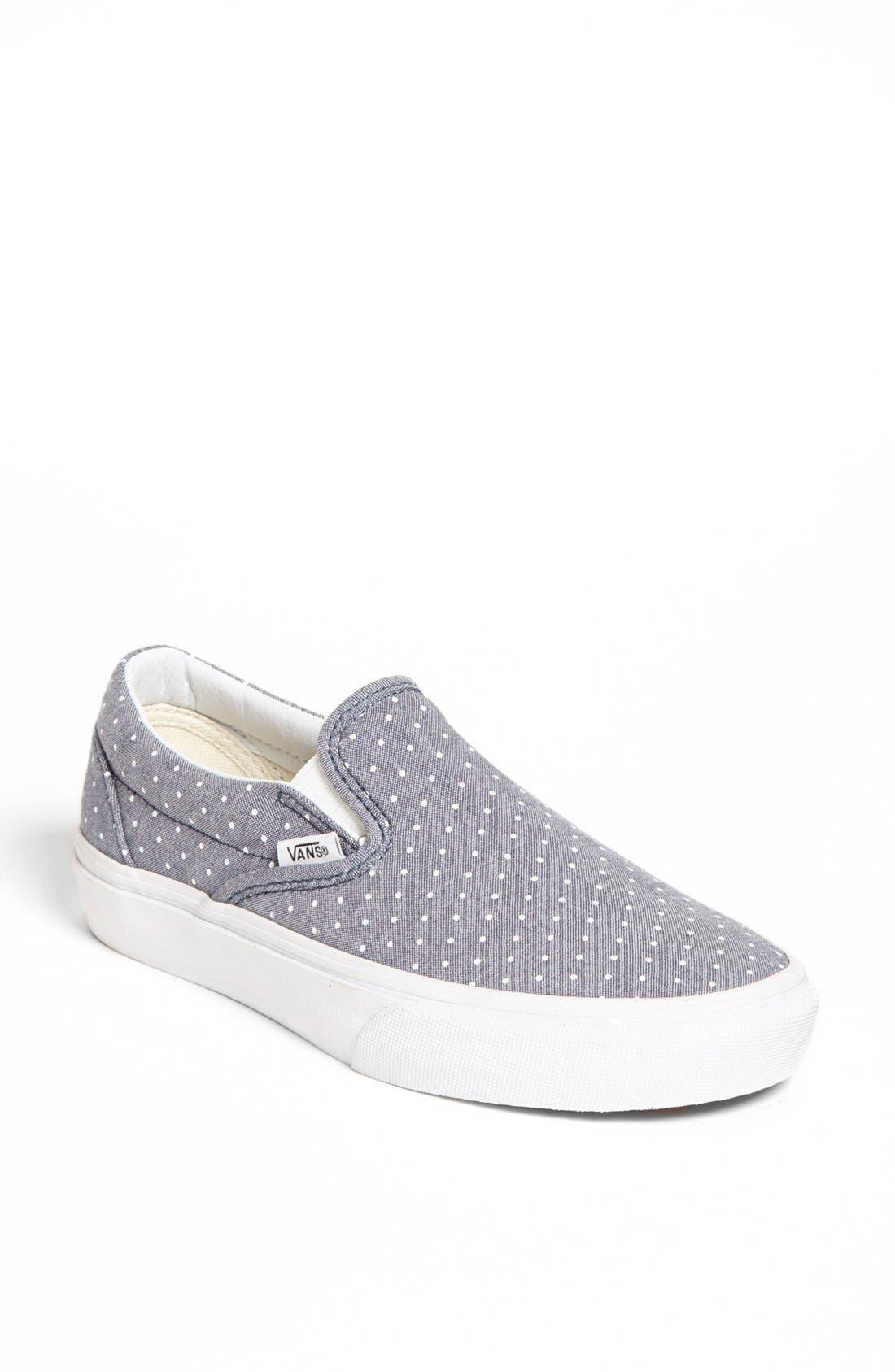 Alternate Image 1 Selected - Vans 'Classic' Sneaker (Women)