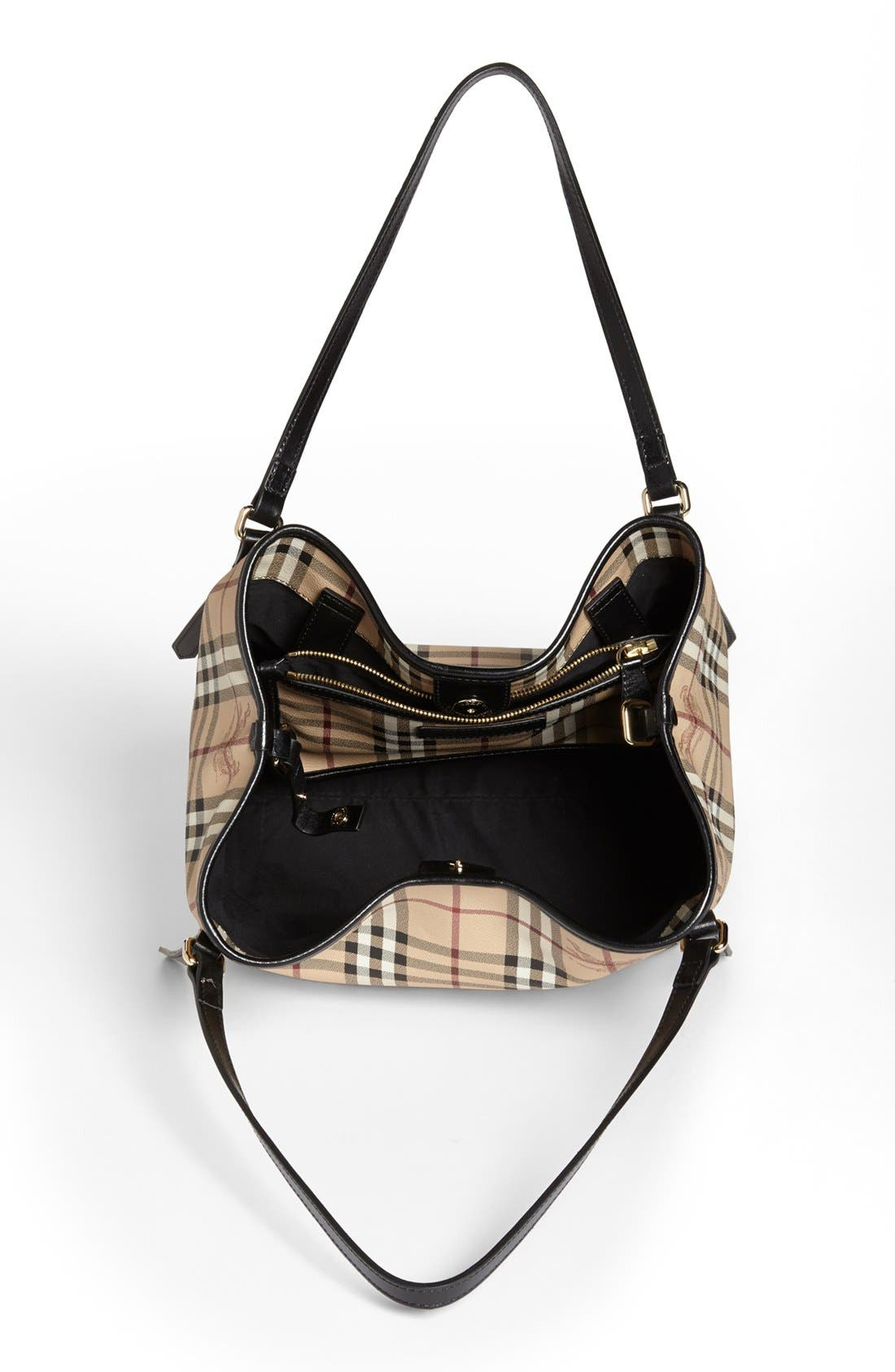 Alternate Image 3  - Burberry 'Haymarket Check - Small' Shoulder Tote