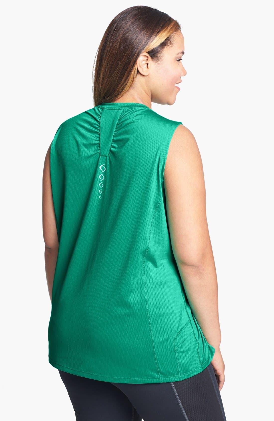 Alternate Image 2  - Moving Comfort 'Sprint' Sleeveless Top (Plus Size)