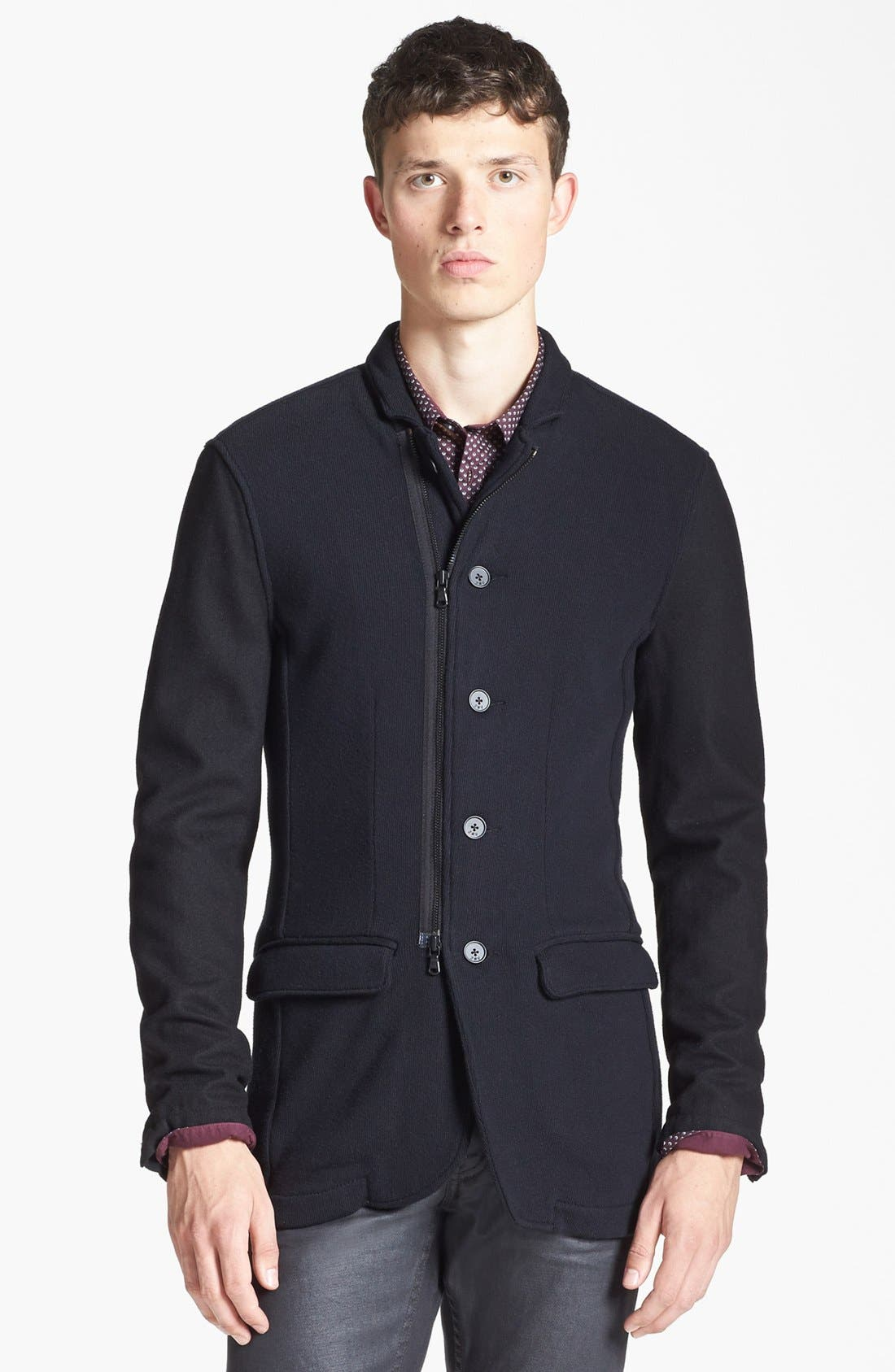 Main Image - John Varvatos Star USA Knit Jacket