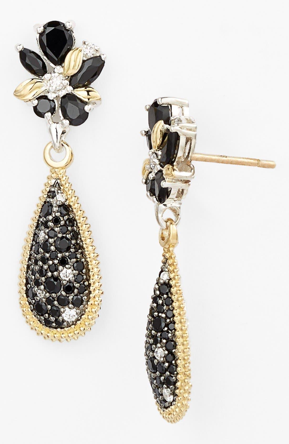 Alternate Image 1 Selected - Lagos 'Nightfall' Diamond Drop Earrings