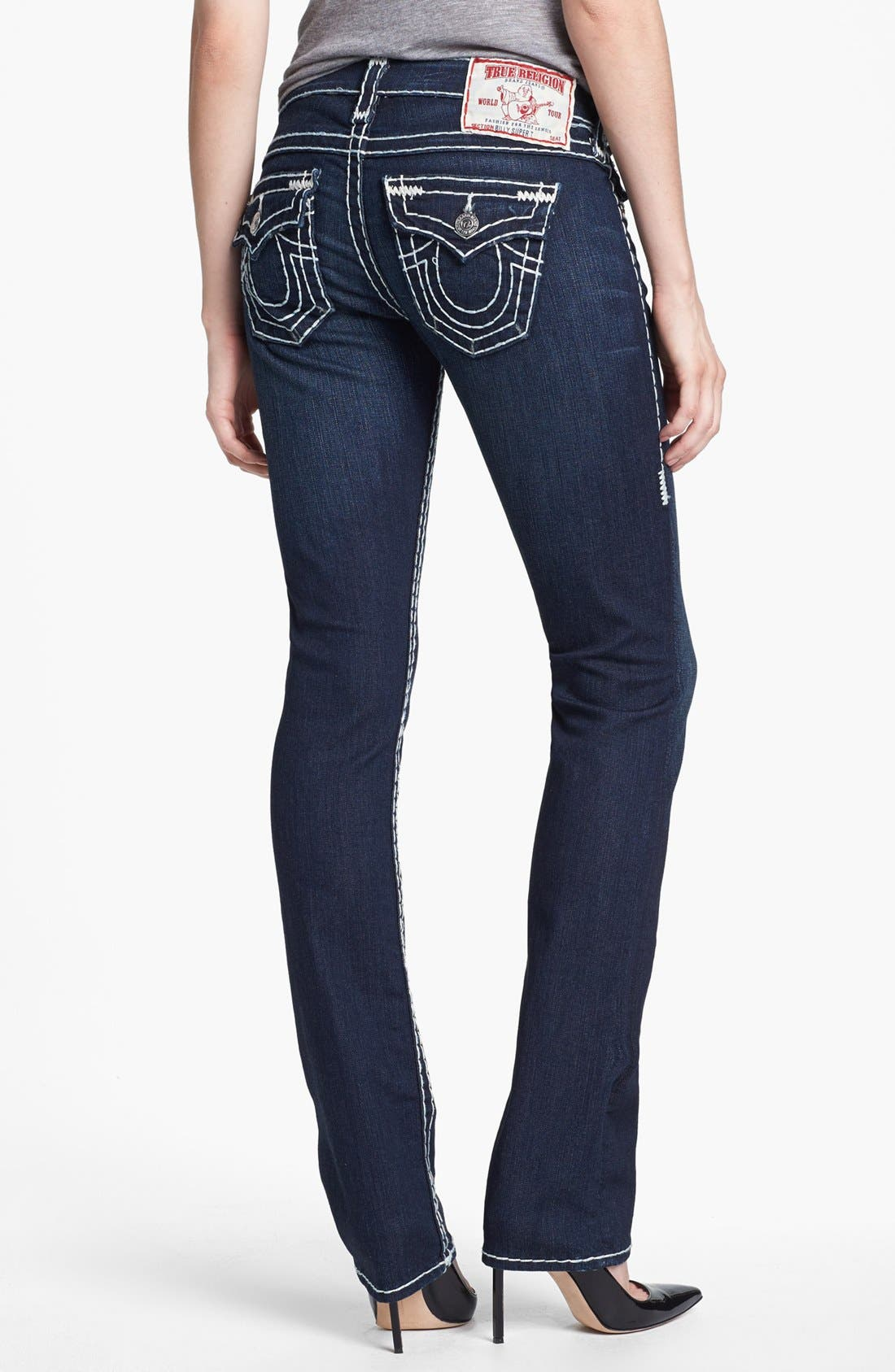 Alternate Image 2  - True Religion Brand Jeans 'Billy - Super T' Straight Leg Jeans (Rollingwood)