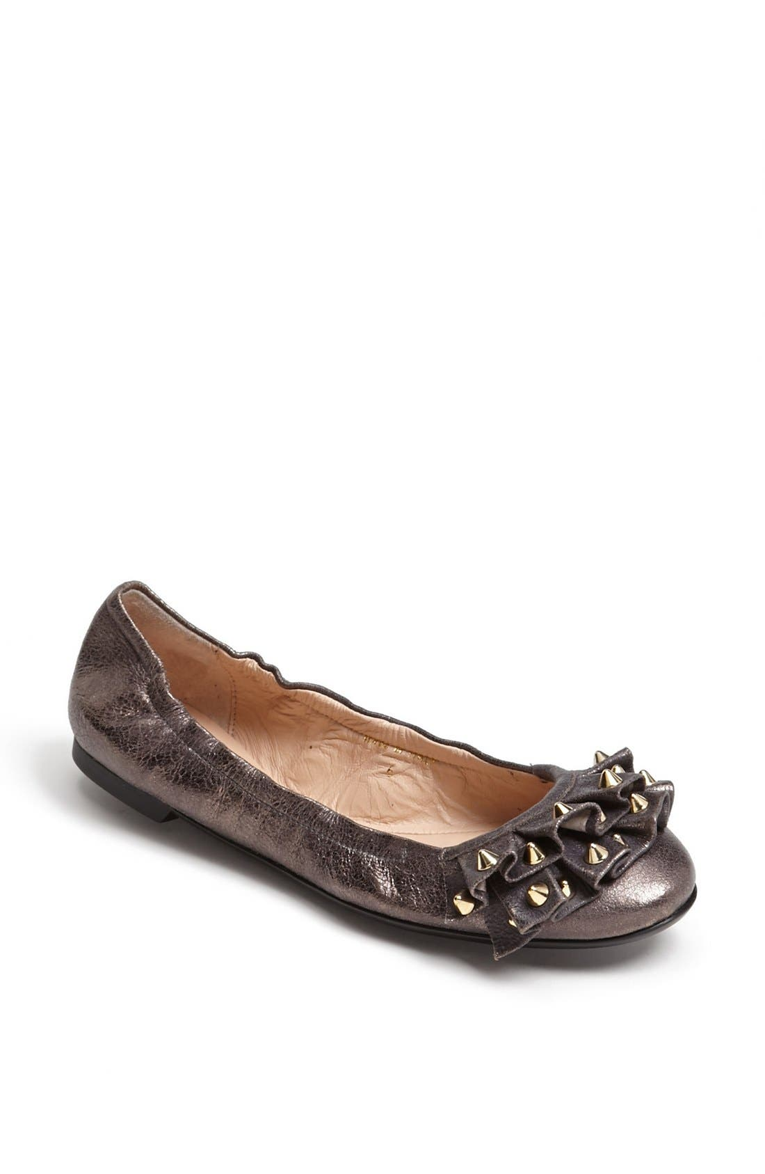 Alternate Image 1 Selected - Sweet Ballerina Metallic Ballet Flat