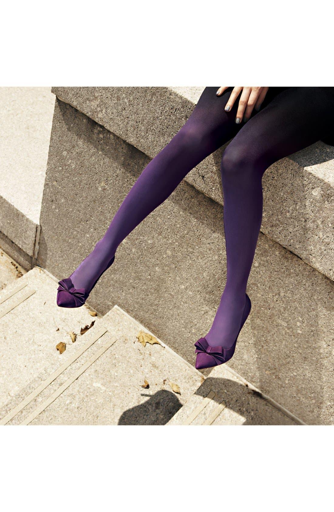 Alternate Image 3  - DKNY Ombré Tights