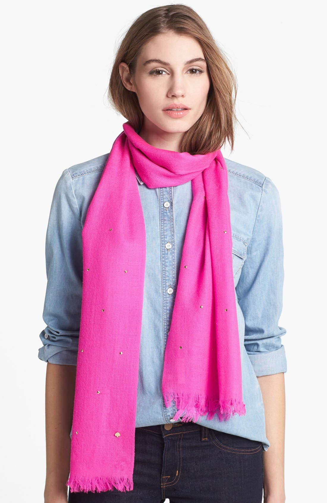Main Image - kate spade new york 'in a flurry' scarf