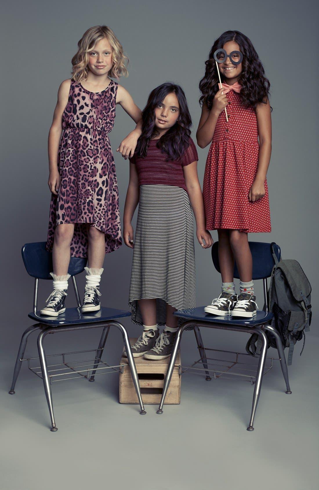 Alternate Image 3  - Mia Chica 'Heart' Dress (Big Girls)