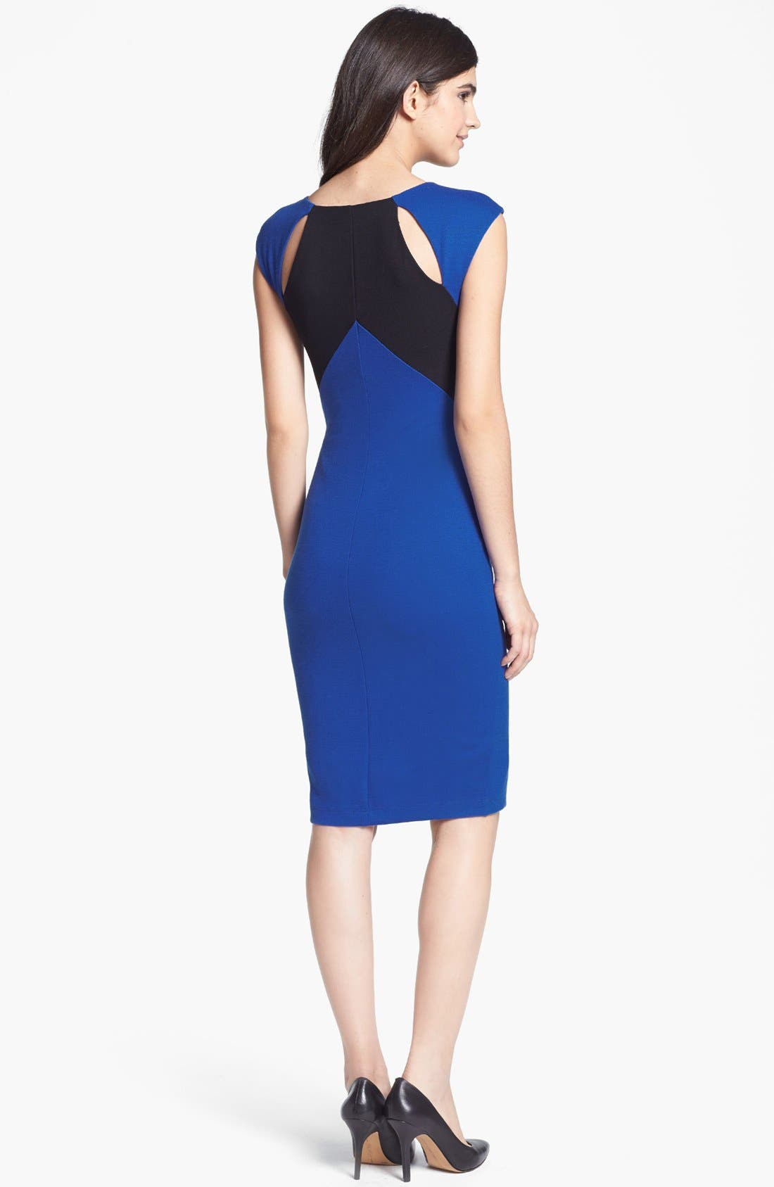 Alternate Image 2  - B44 Dressed by Bailey 44 'Biotech' Back Cutout Colorblock Sheath Dress