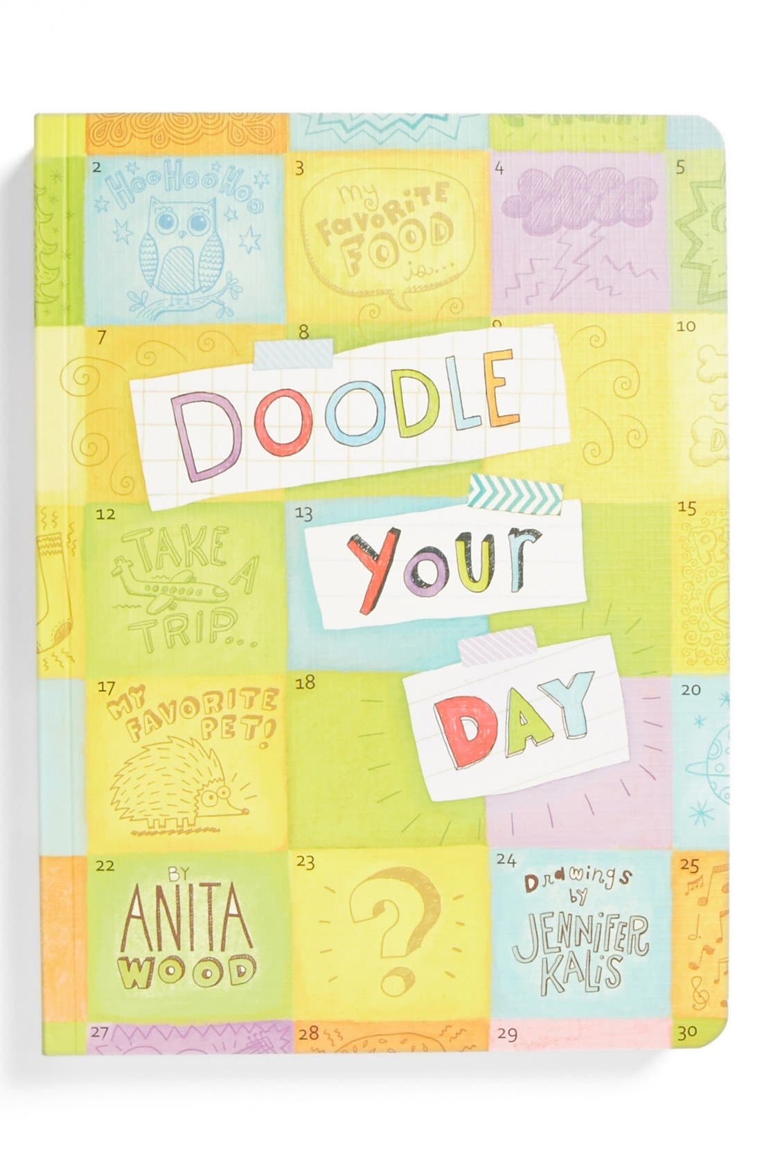 Alternate Image 1 Selected - 'Doodle Your Day' Activity Journal (Girls)