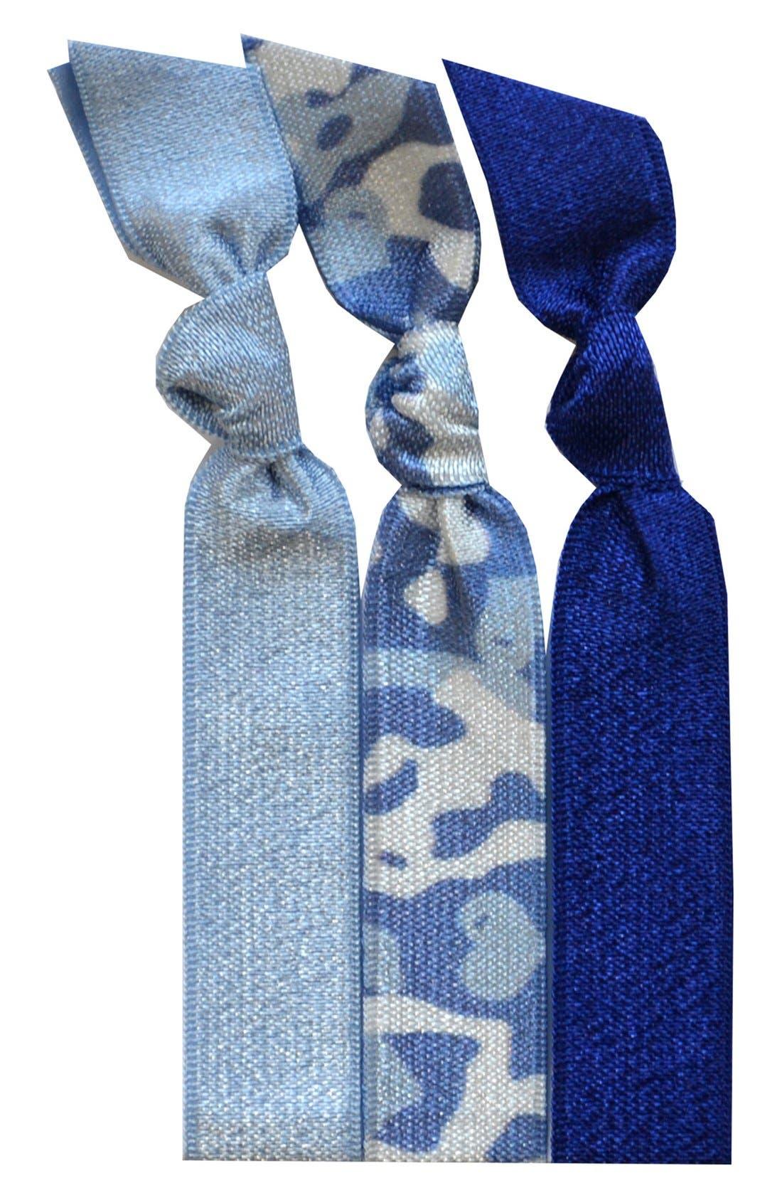Alternate Image 1 Selected - Emi-Jay 'Ocean Camo' Hair Ties (3-Pack)