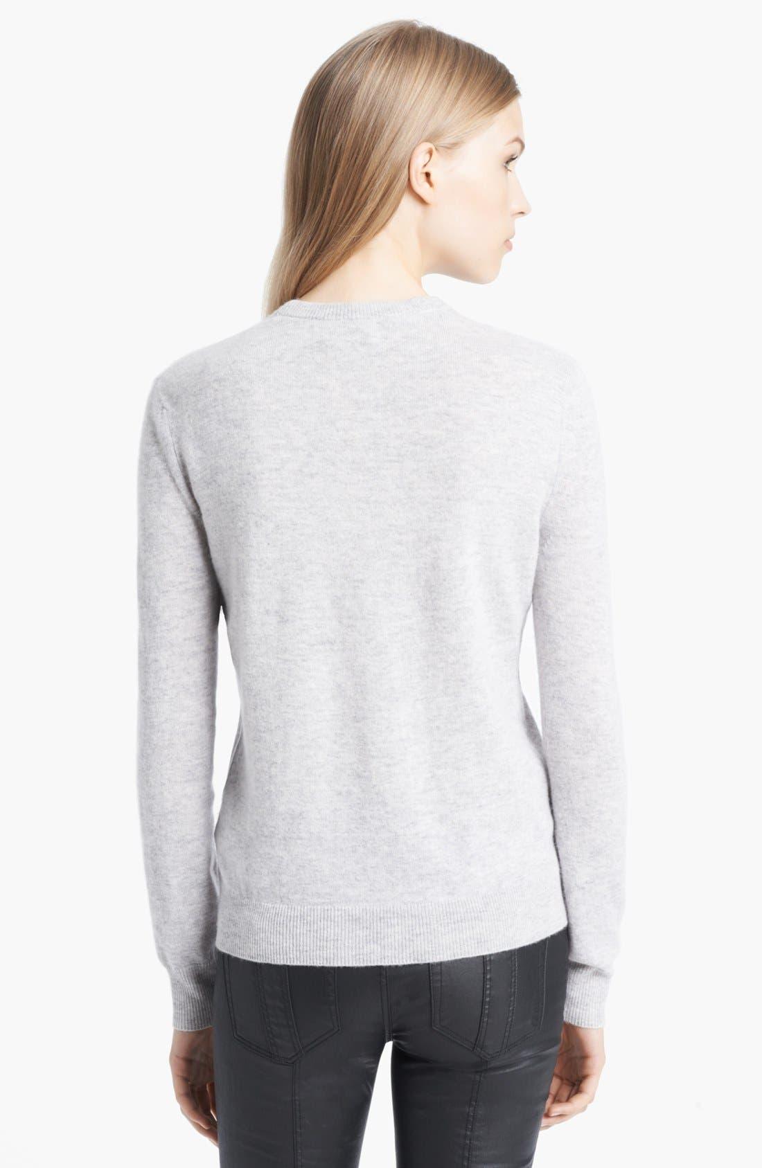 Alternate Image 2  - Burberry Brit Intarsia Sweater