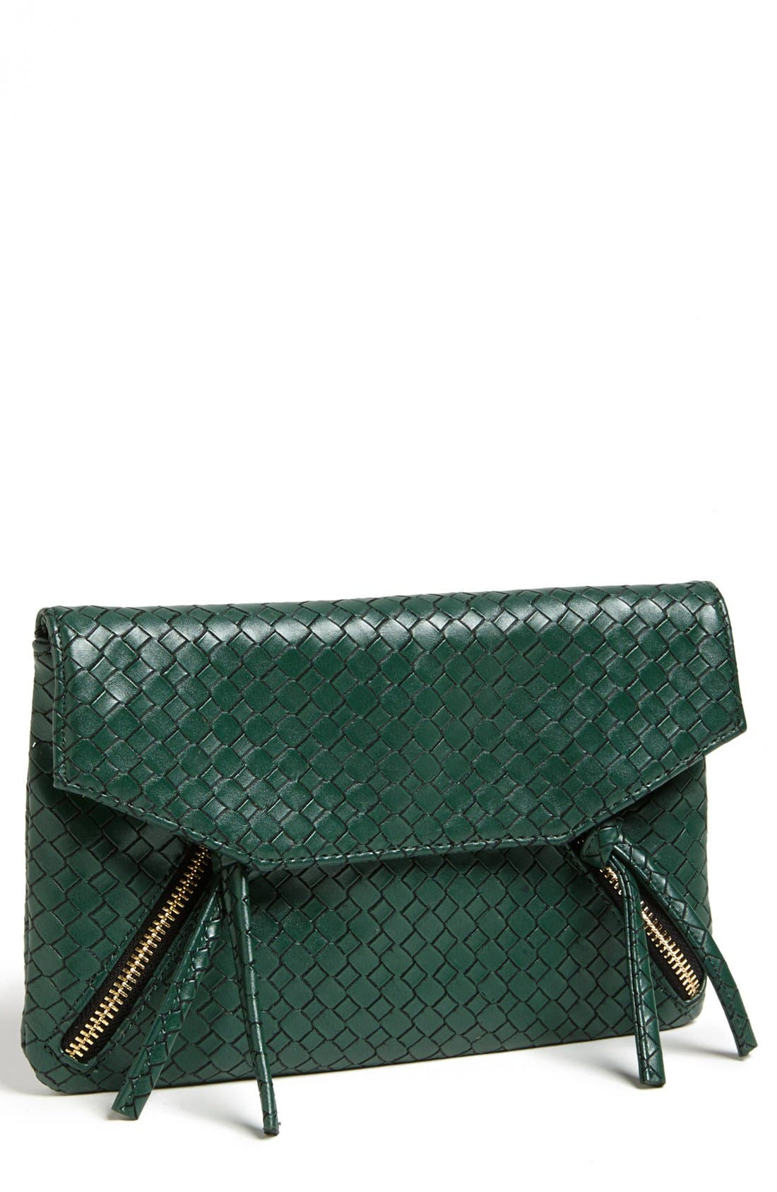 Alternate Image 1 Selected - pretty ships 'Cayenne' Woven Clutch