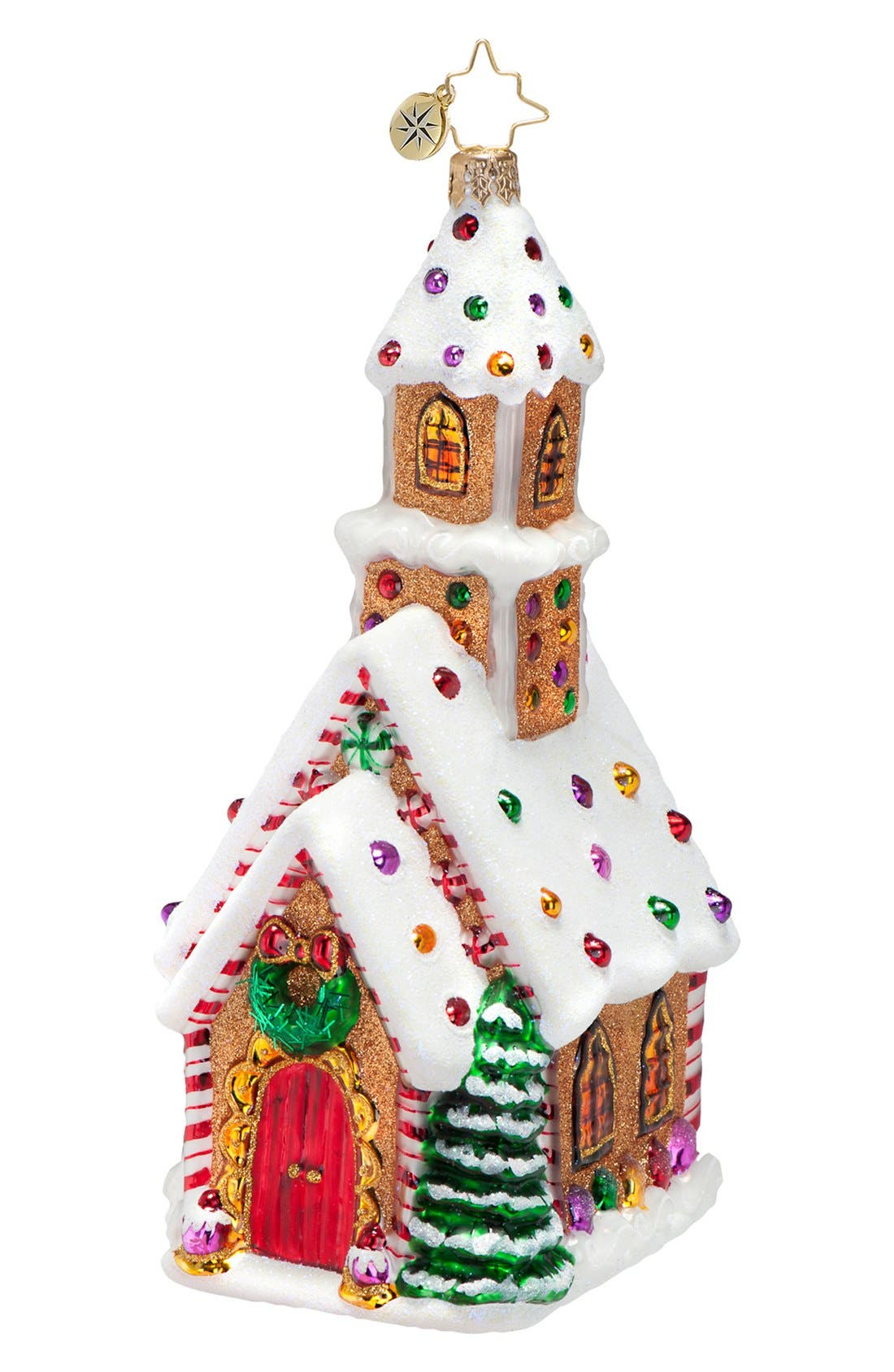 Main Image - Christopher Radko 'Candied Cathedral' Ornament