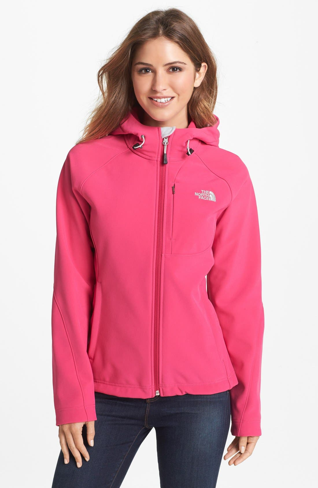 Alternate Image 1 Selected - The North Face 'Apex Bionic' Hooded Soft Shell Jacket