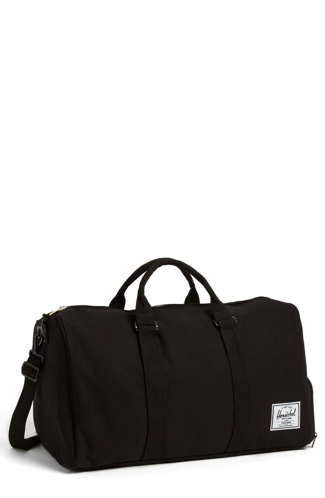 Alternate Image 1 Selected - Herschel Supply Co. 'Novel' Canvas Duffel Bag