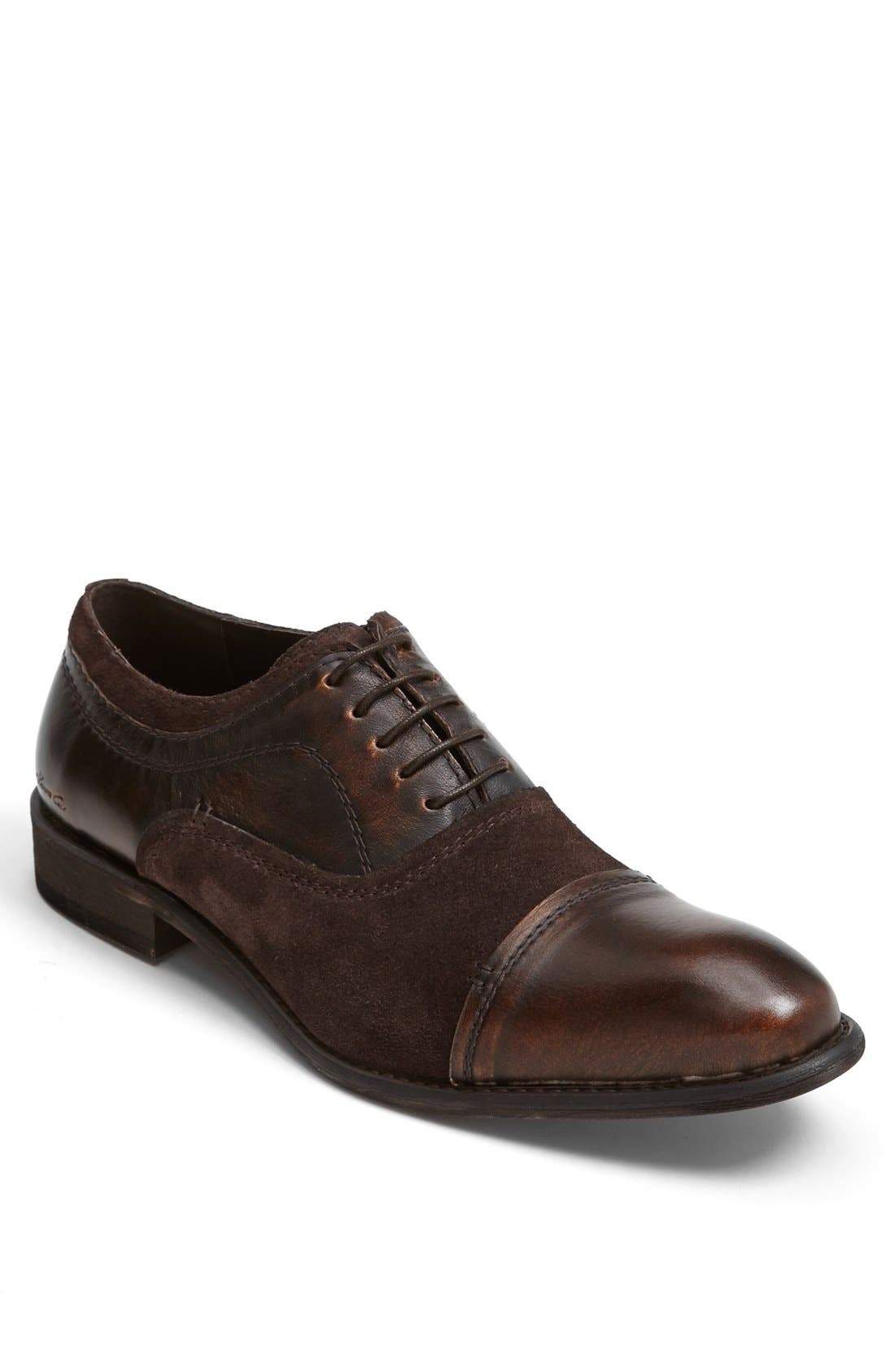 Alternate Image 1 Selected - Kenneth Cole New York 'Wishing Star' Cap Toe Oxford