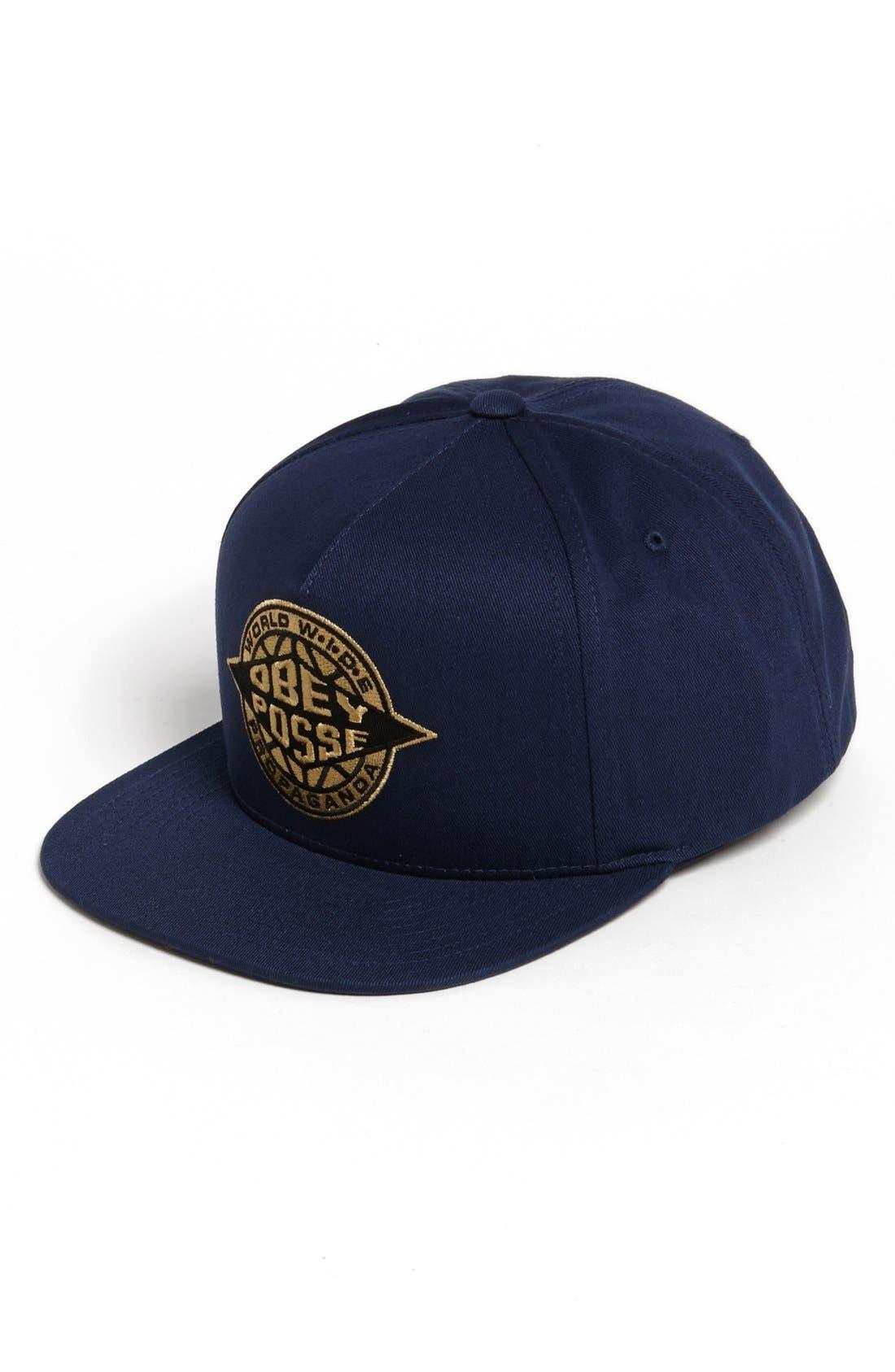 Alternate Image 1 Selected - Obey 'Ill' Snapback Baseball Cap