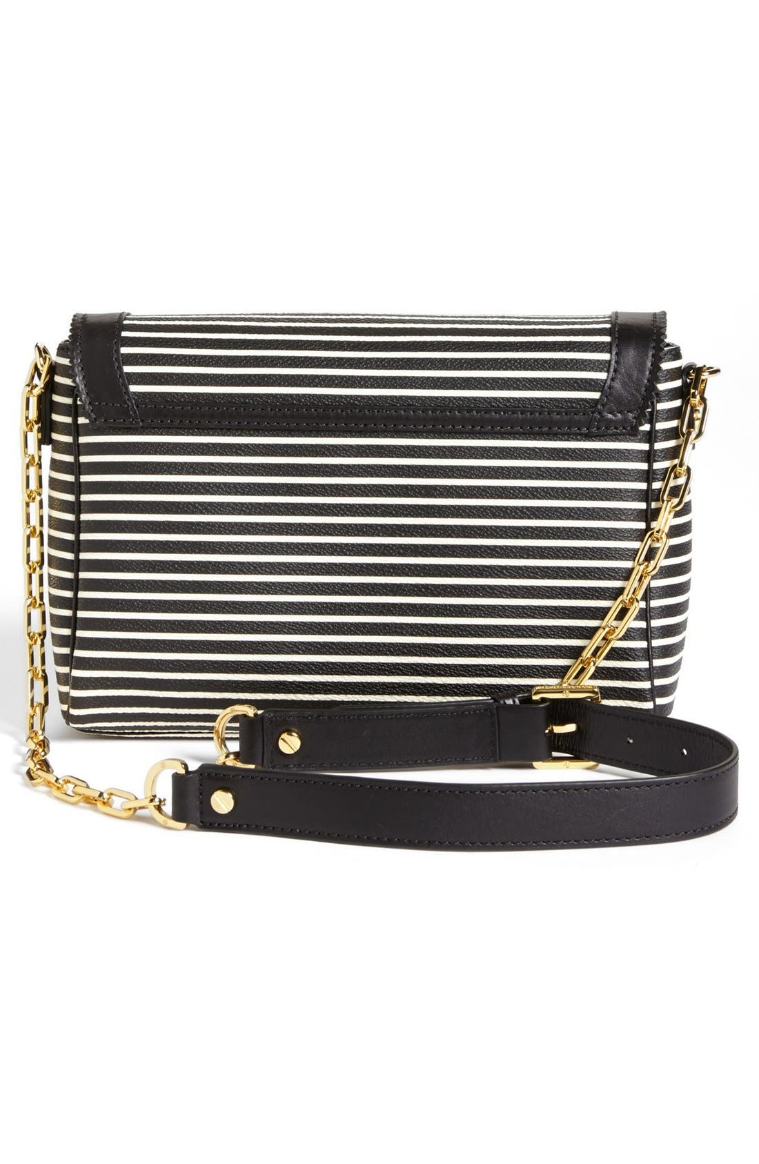 Alternate Image 4  - Tory Burch 'Viva' Canvas & Leather Crossbody Bag