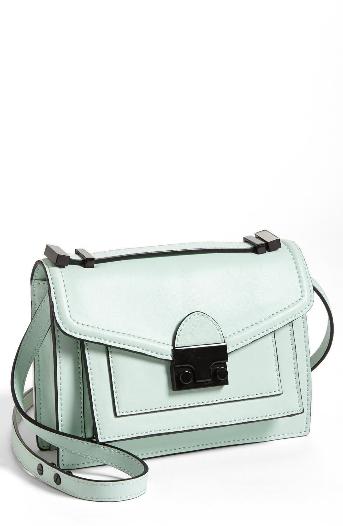 Main Image - Loeffler Randall 'Rider - Mini' Leather Satchel