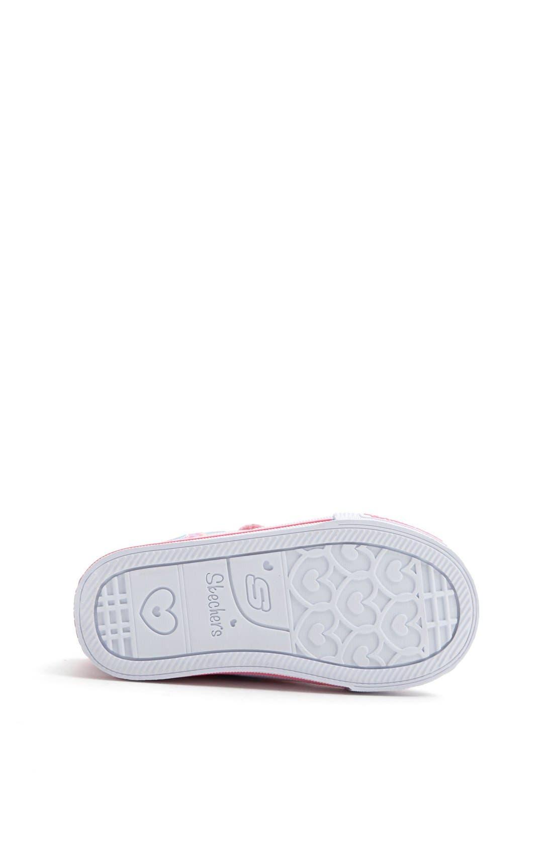 Alternate Image 4  - SKECHERS 'Twinkle Toes - Sweet Talk' Light-Up Sneaker (Walker & Toddler)