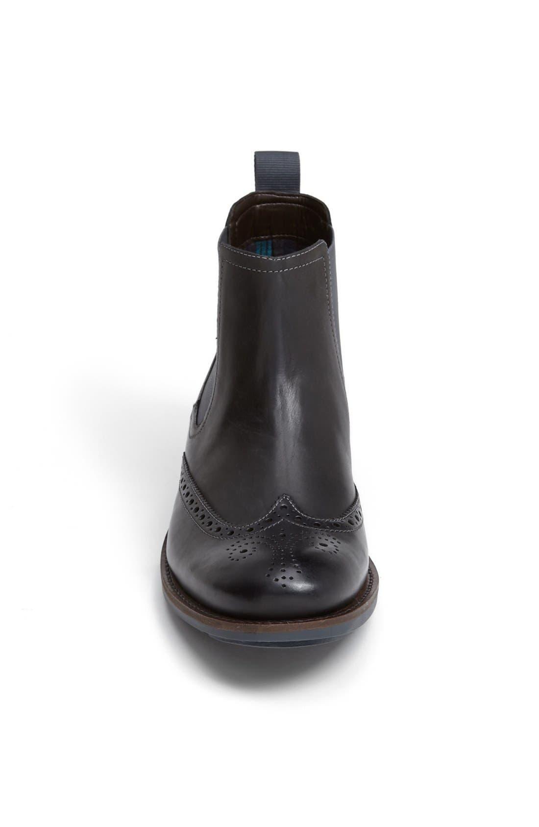 Alternate Image 3  - Clarks® 'Garnet' Wingtip Chelsea Boot   (Men)