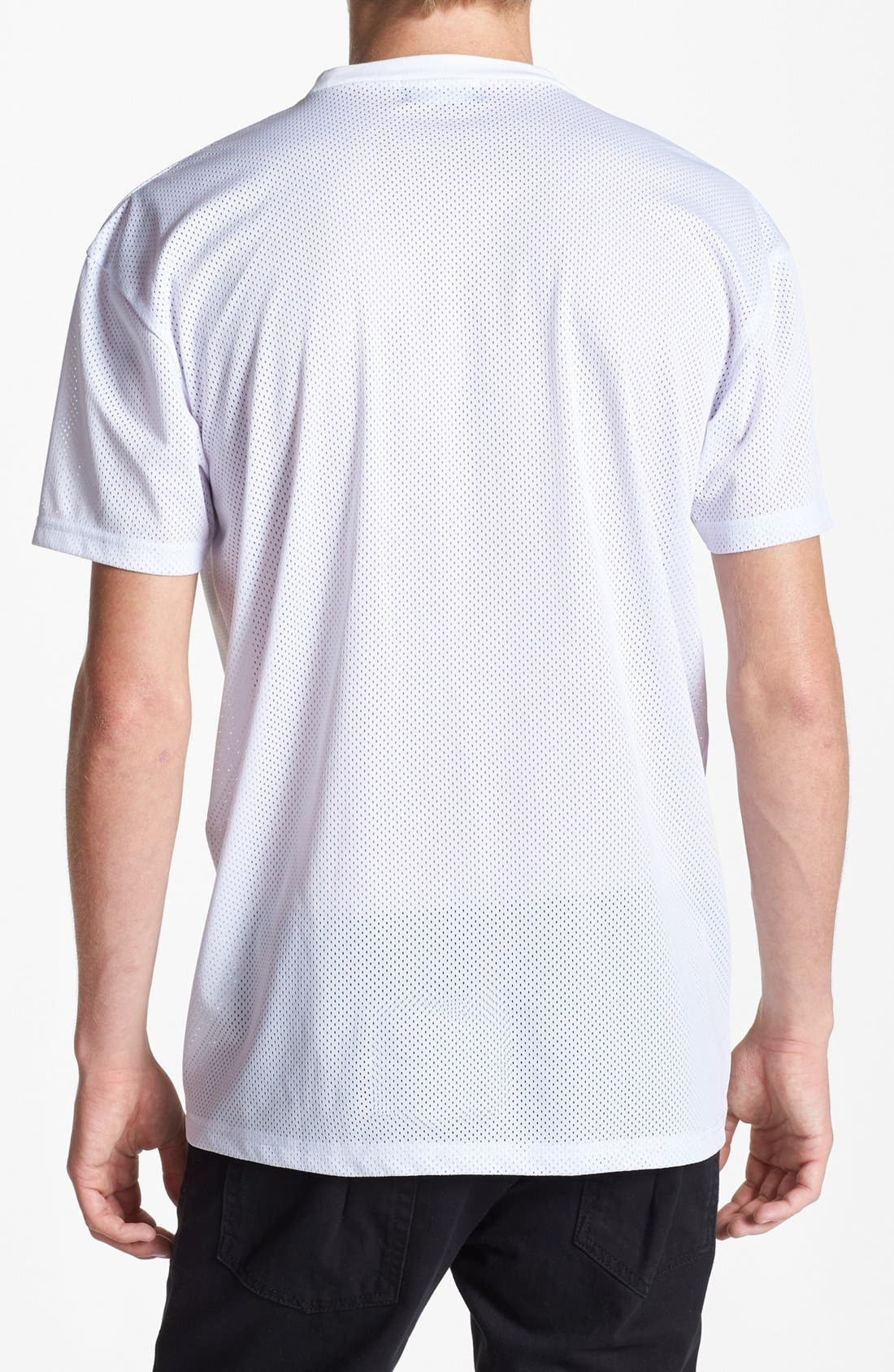 Alternate Image 2  - Topman Mesh T-Shirt