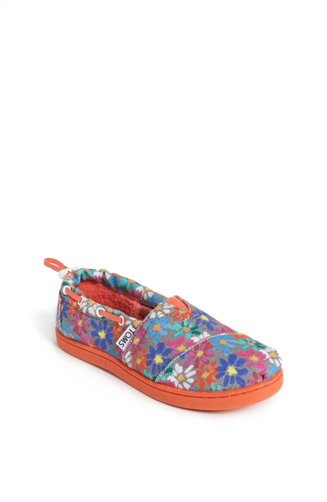 Alternate Image 1 Selected - TOMS 'Bimini Alpargata - Youth' Slip-On (Toddler, Little Kid & Big Kid)