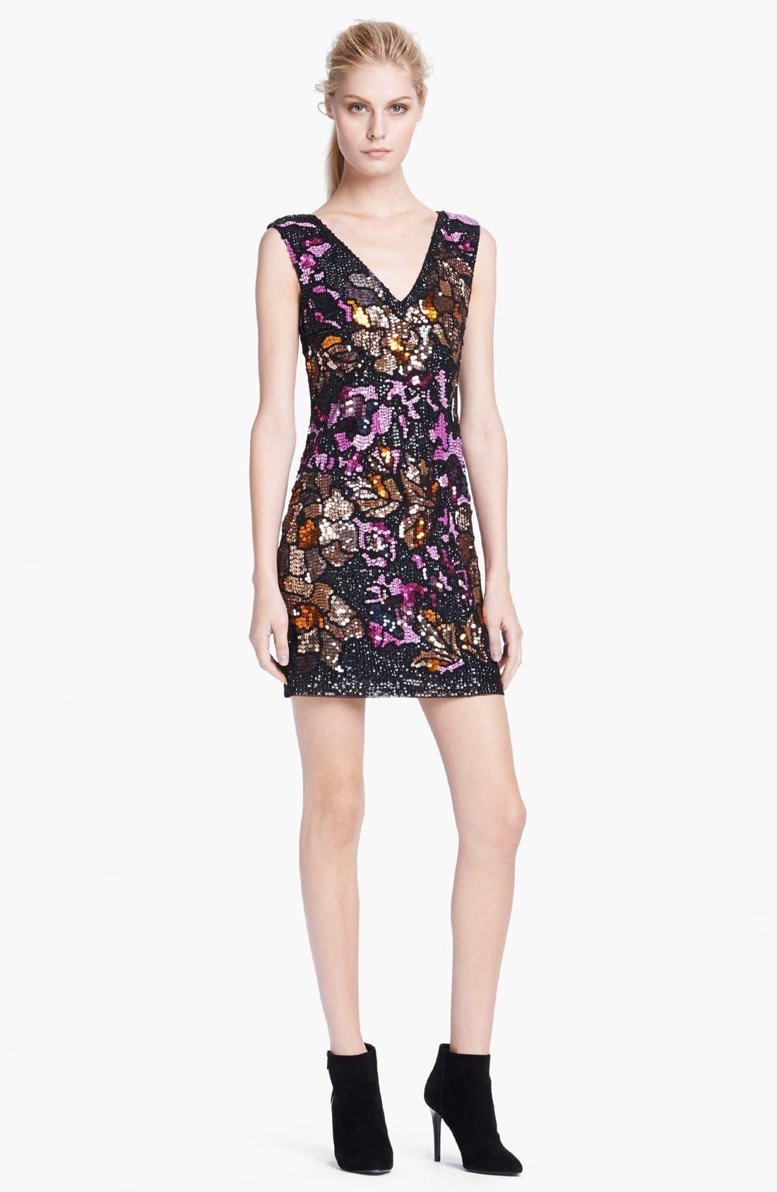 Alternate Image 1 Selected - Tracy Reese 'Rococo' Beaded Sheath Dress