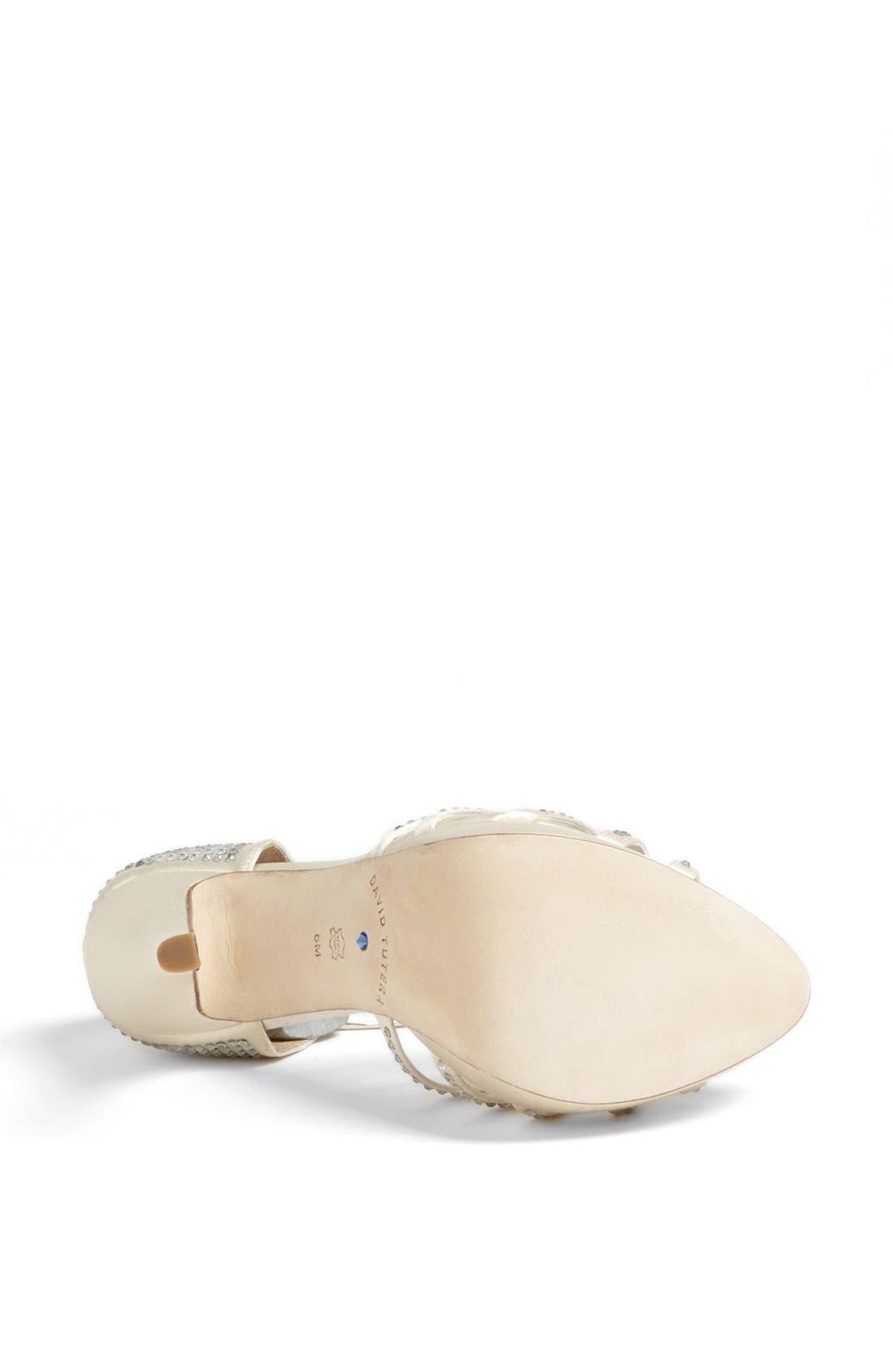 Alternate Image 4  - David Tutera 'Wonderful' T-Strap Sandal