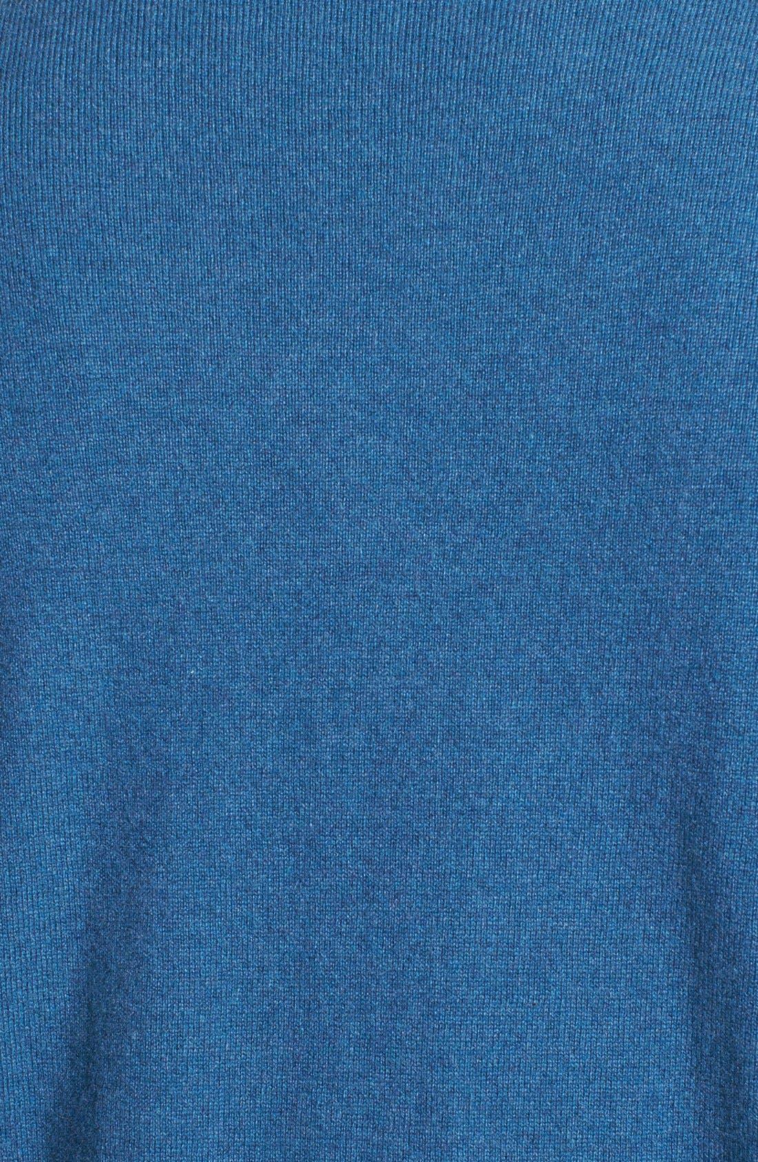Alternate Image 3  - Robert Talbott Quarter Zip Cashmere Vest