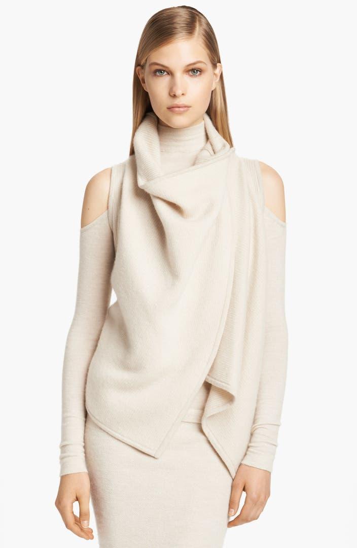 donna karan collection boiled cashmere vest nordstrom. Black Bedroom Furniture Sets. Home Design Ideas