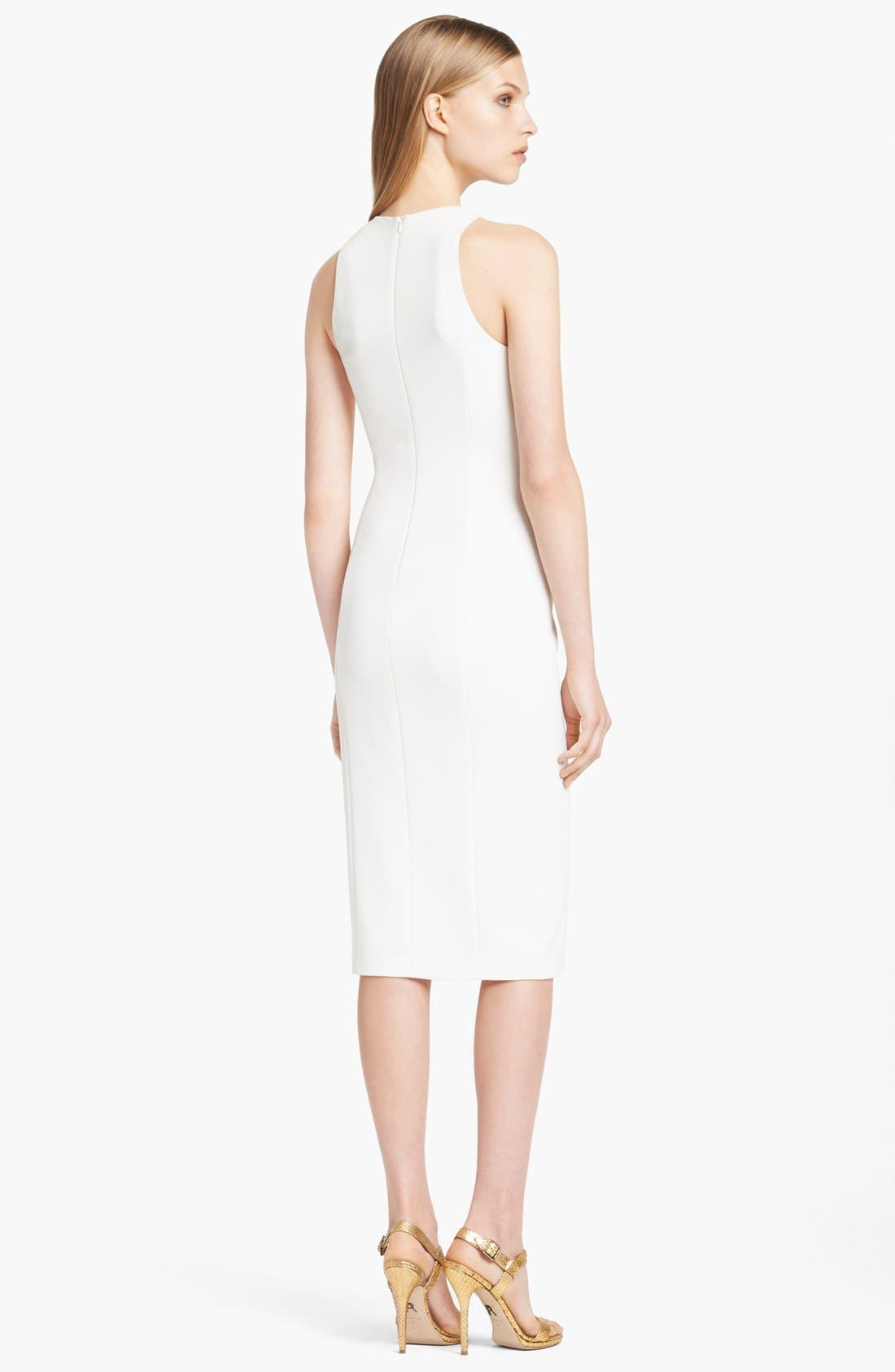 Alternate Image 2  - Donna Karan Collection Draped Fluid Crepe Jersey Dress