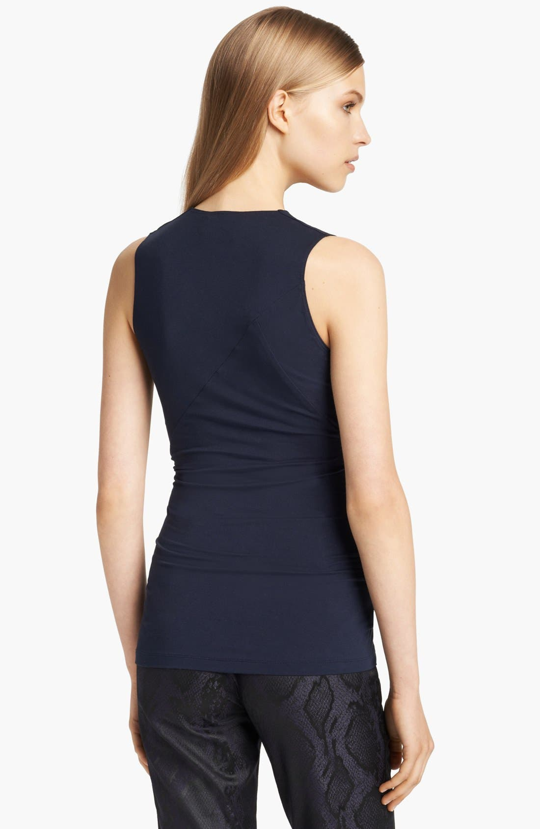 Alternate Image 2  - Donna Karan Collection Surplice Stretch Jersey Top
