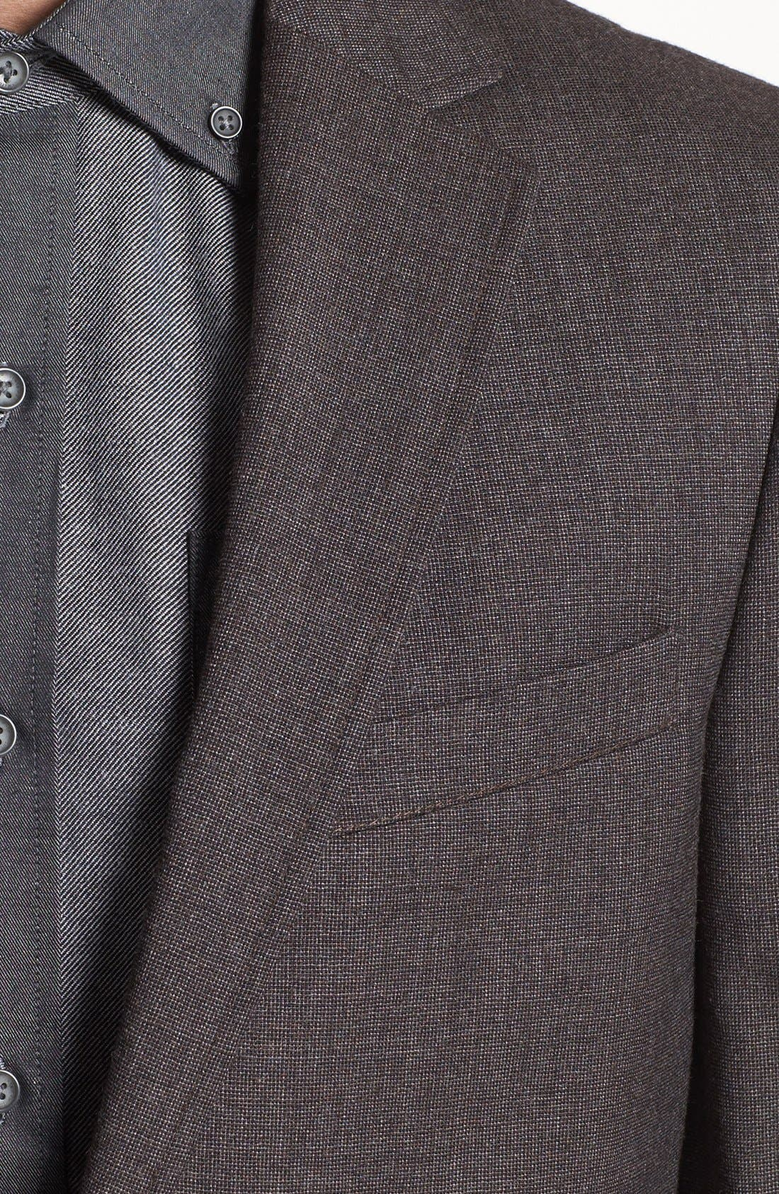 Alternate Image 3  - Vince Camuto Slim Fit Wool Sportcoat