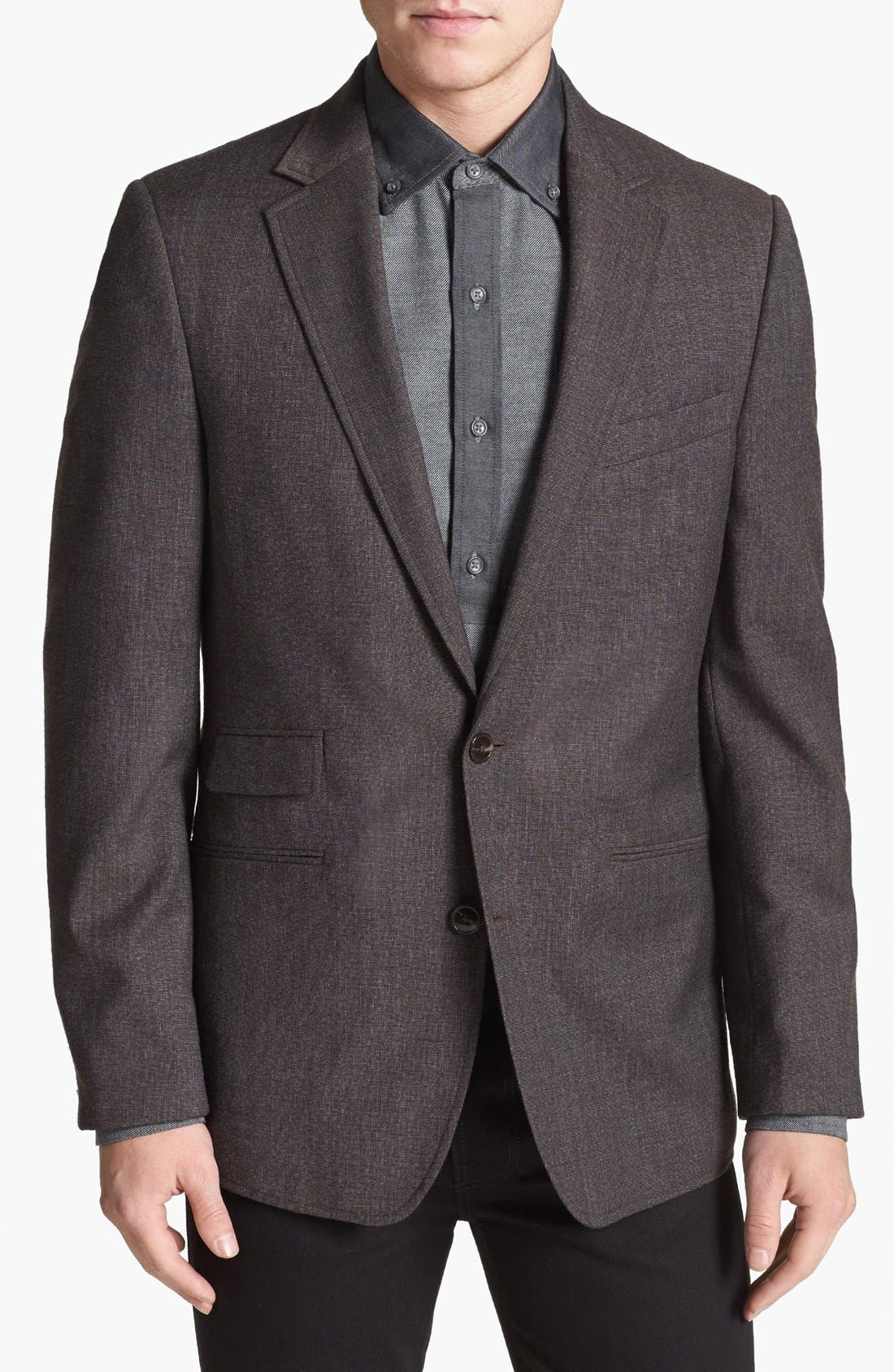 Alternate Image 1 Selected - Vince Camuto Slim Fit Wool Sportcoat