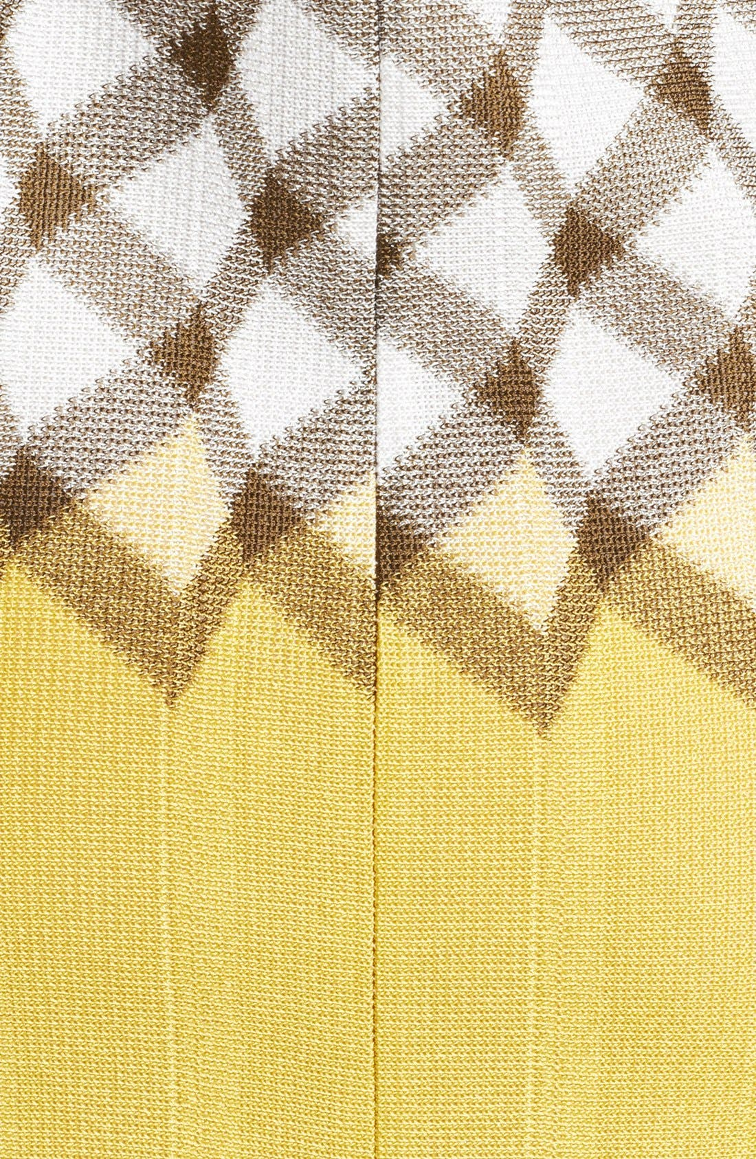 Alternate Image 3  - Missoni Boatneck Geometric Dégradé Dress
