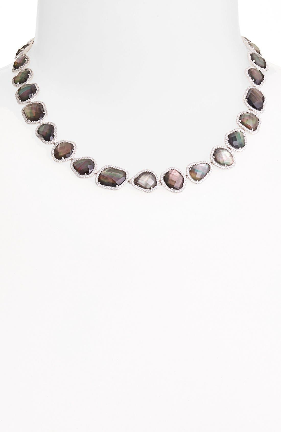 Alternate Image 1 Selected - Nadri Doublet Collar Necklace