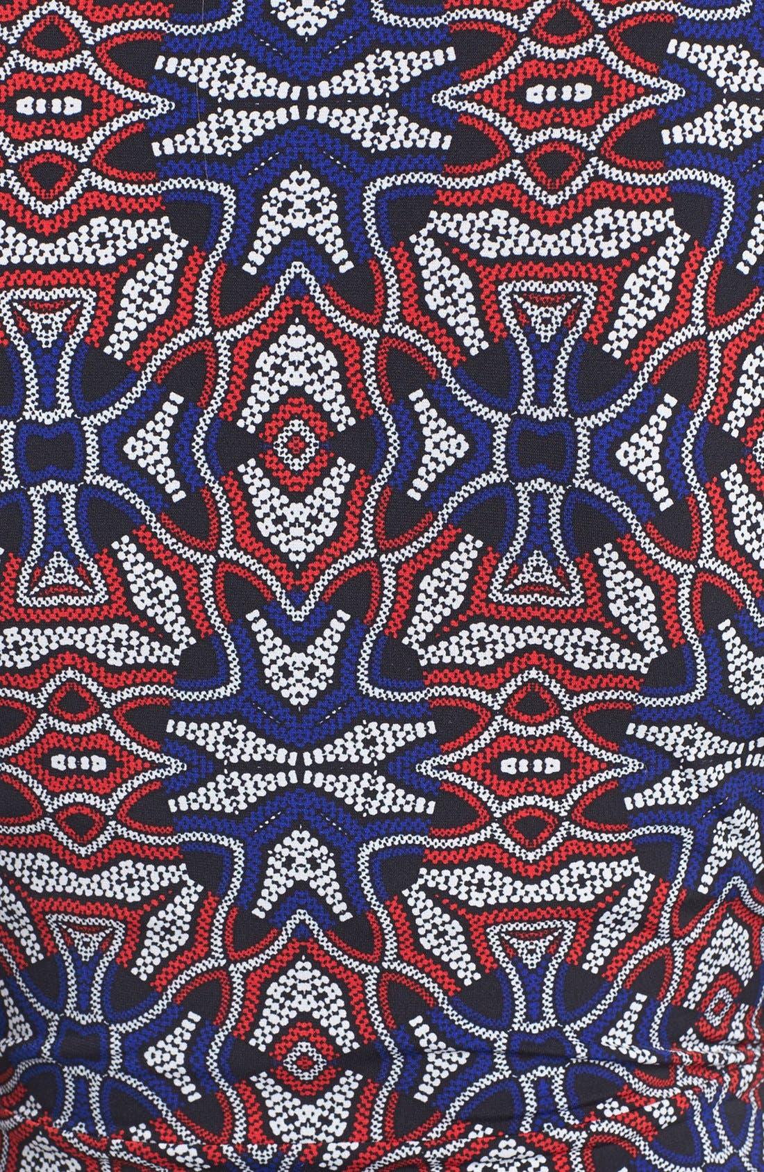 Alternate Image 3  - Anne Klein Print Faux Wrap Dress (Petite)