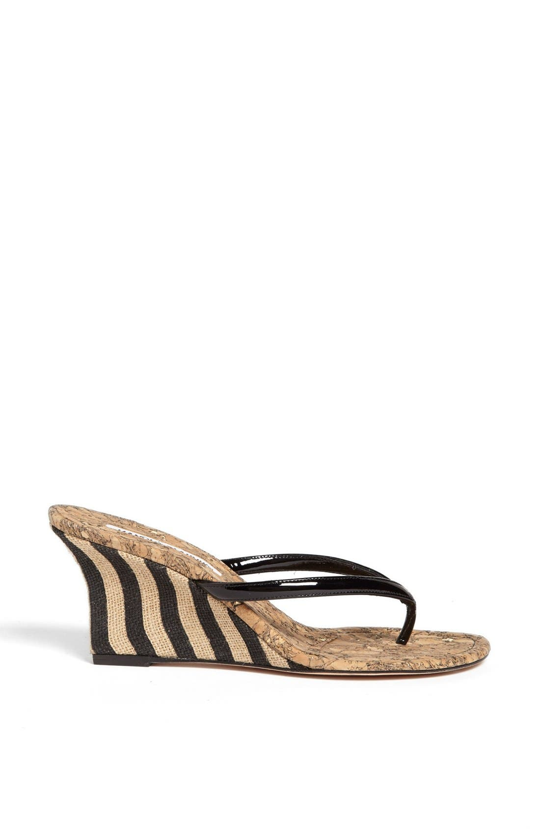 Alternate Image 4  - Manolo Blahnik 'Pat' Wedge Sandal