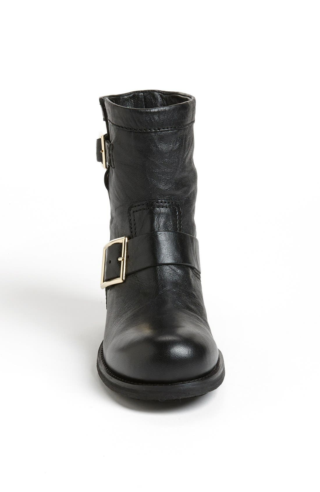 Alternate Image 3  - Jimmy Choo 'Youth' Short Biker Boot (Women)