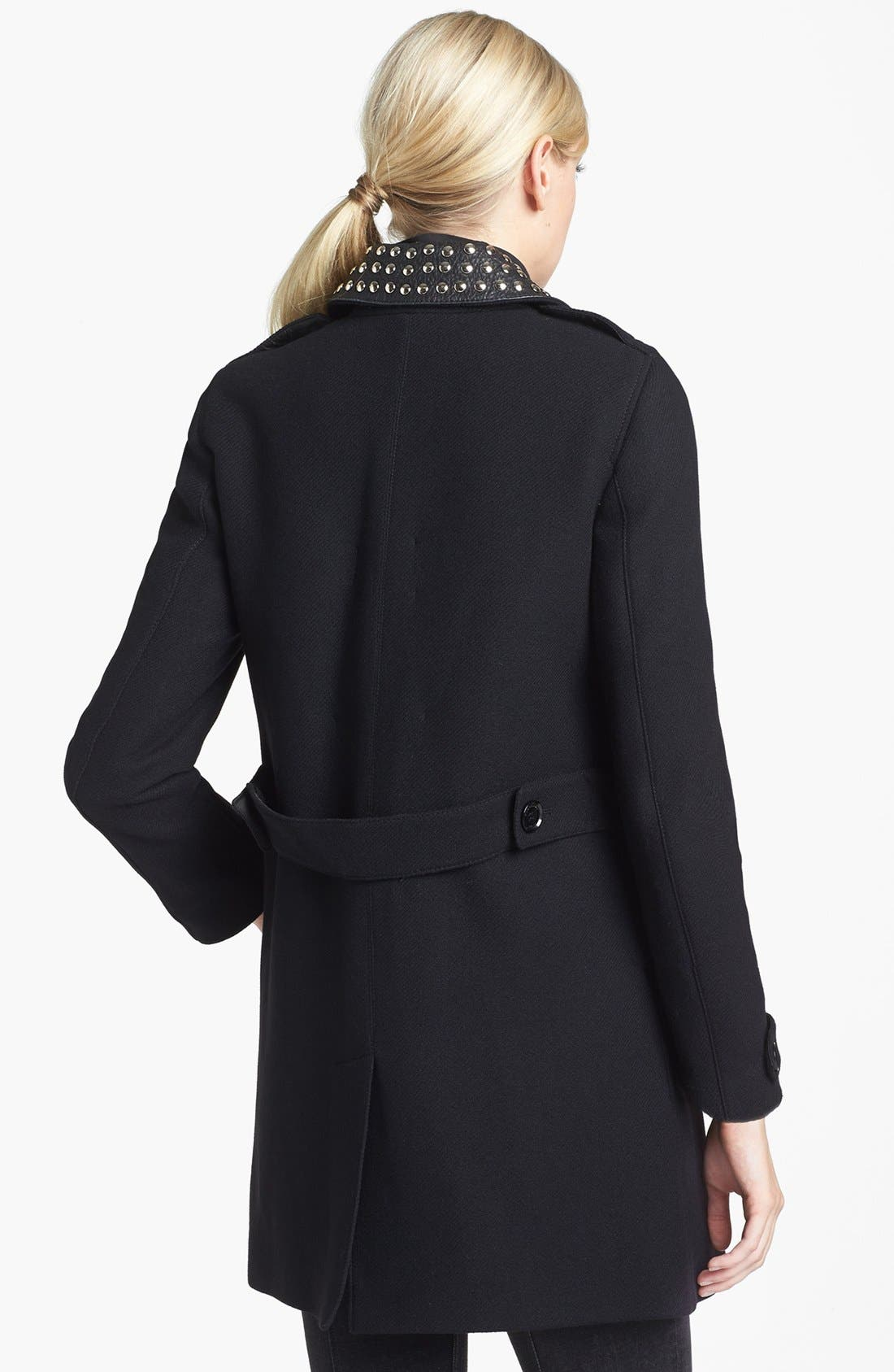 Alternate Image 2  - Burberry Brit 'Masondale' Wool Blend Coat